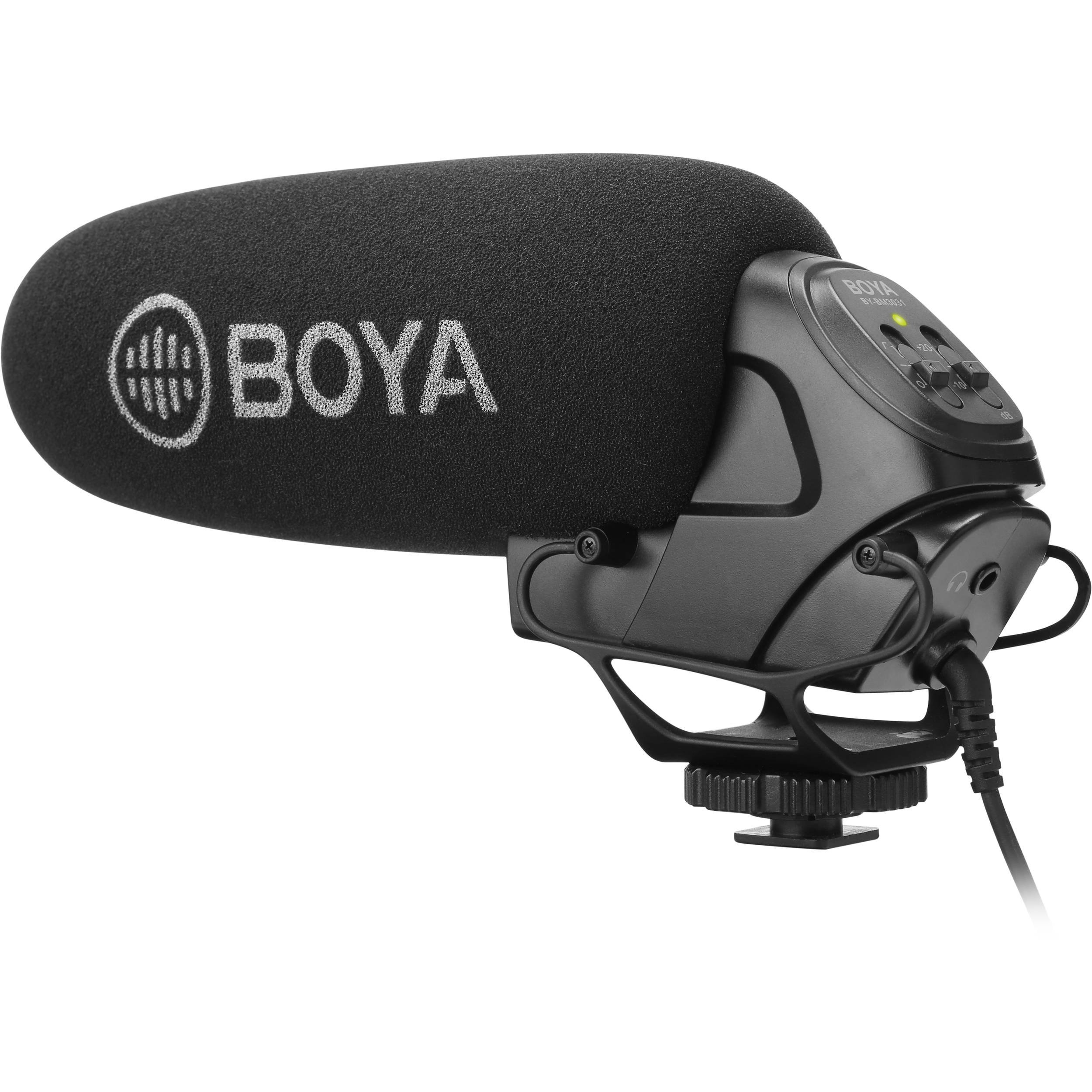 Boya By Bm3031 On Camera Supercardioid Shotgun By Bm3031 Bh