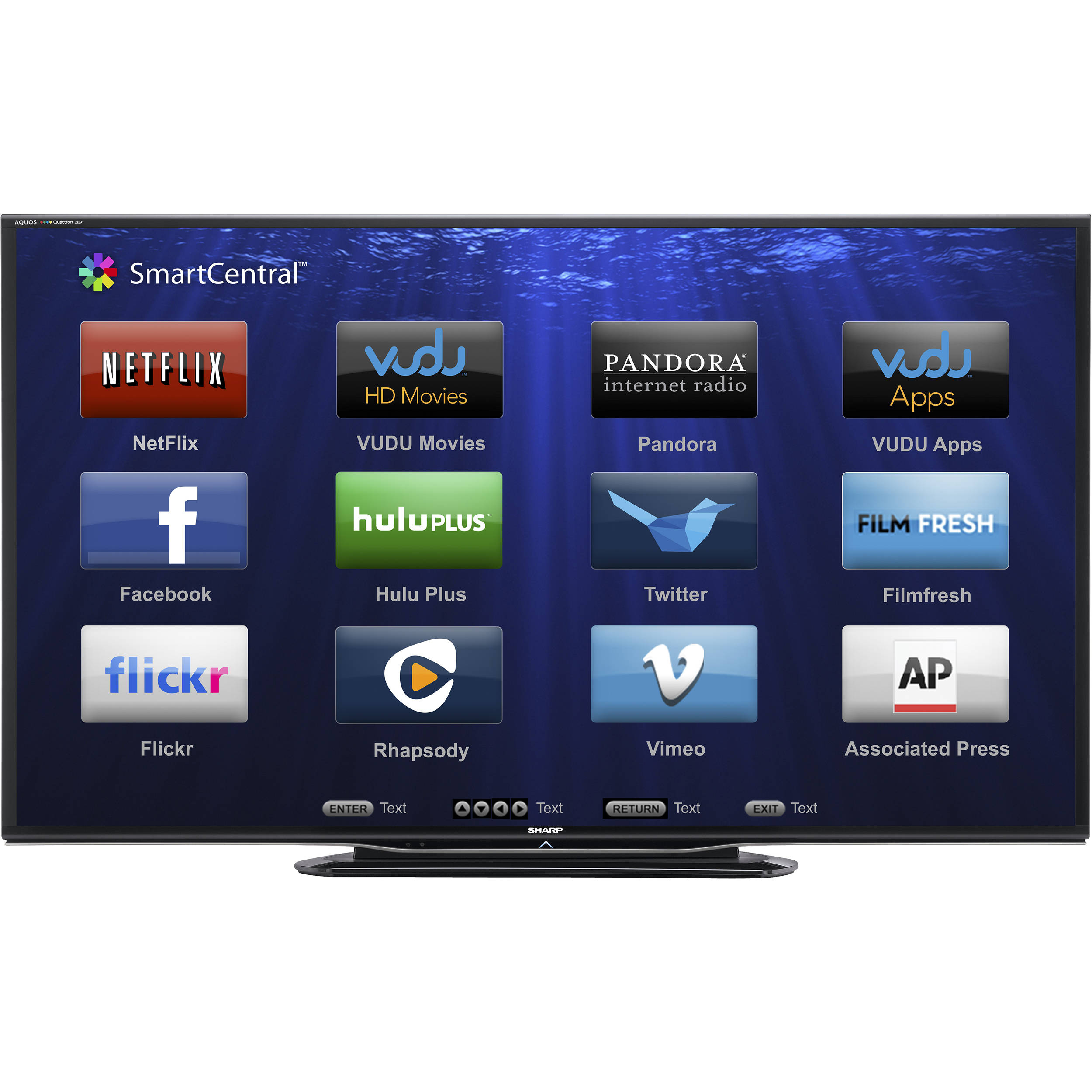 sharp 60 lc 60le757u aquos full hd smart led lc 60le757u rh bhphotovideo com Sharp AQUOS 60 Inch TV sharp aquos 60 led smart tv manual
