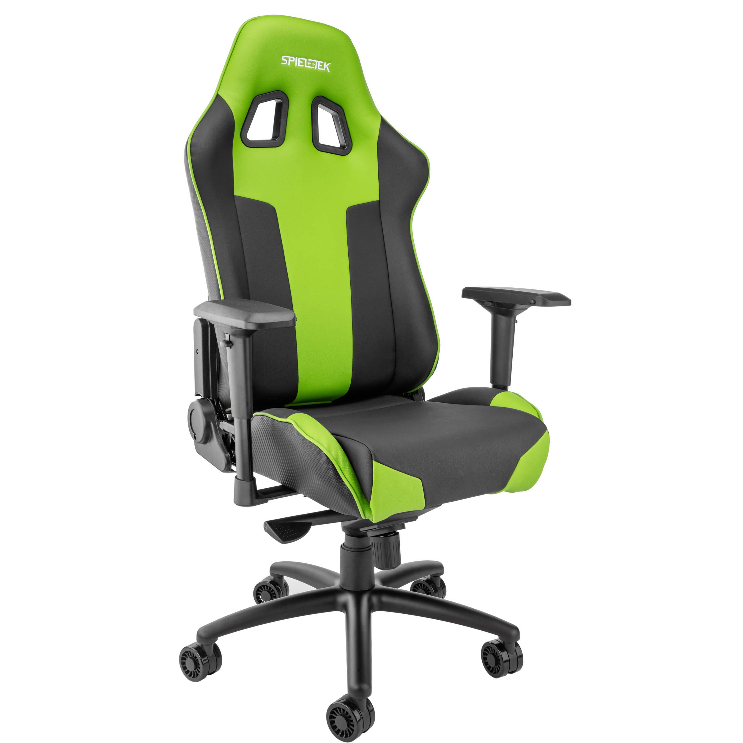 Spieltek Bandit XL Gaming Chair Green GC 211 BG B&H