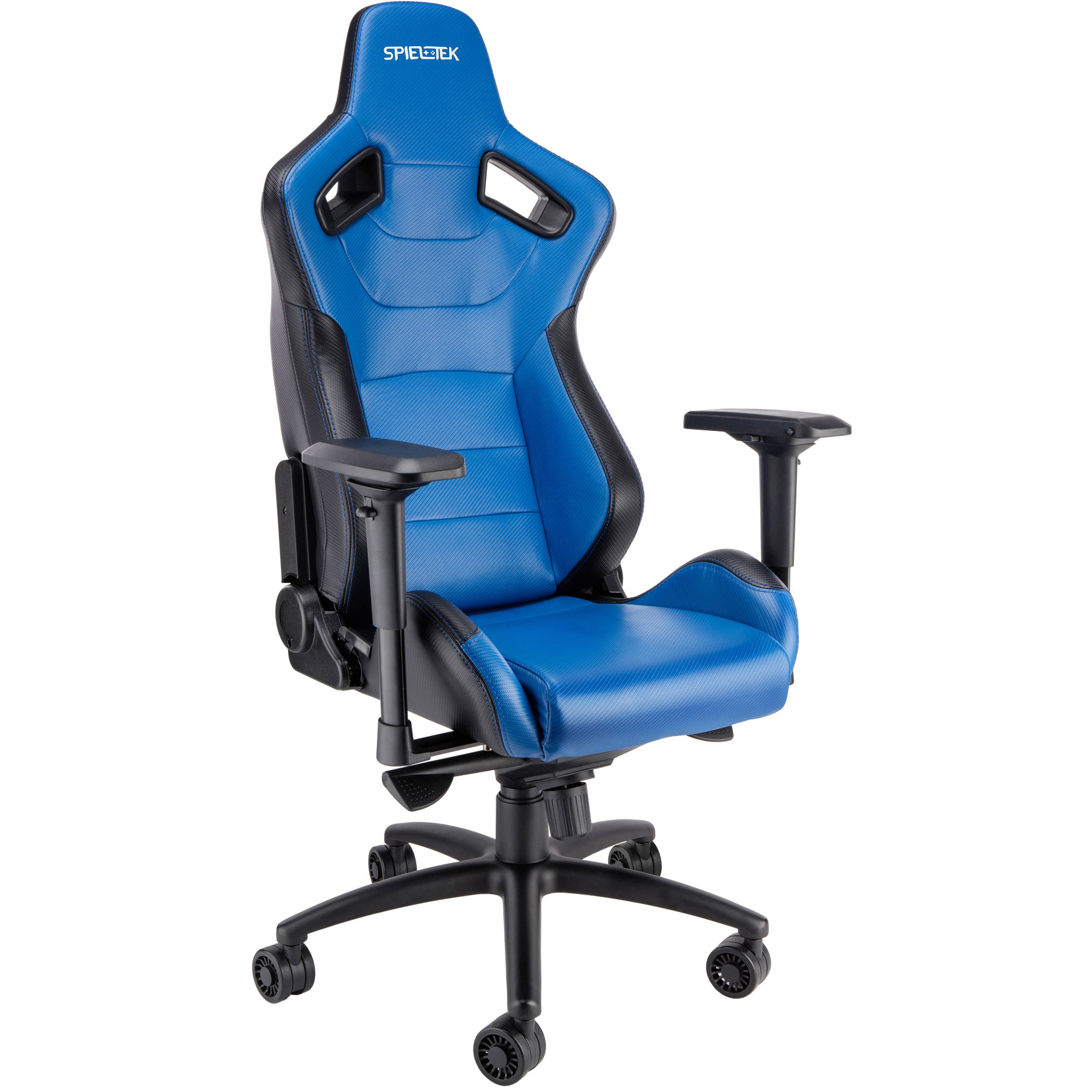 Spieltek Admiral Gaming Chair Blue GC 321 BBL B&H Video