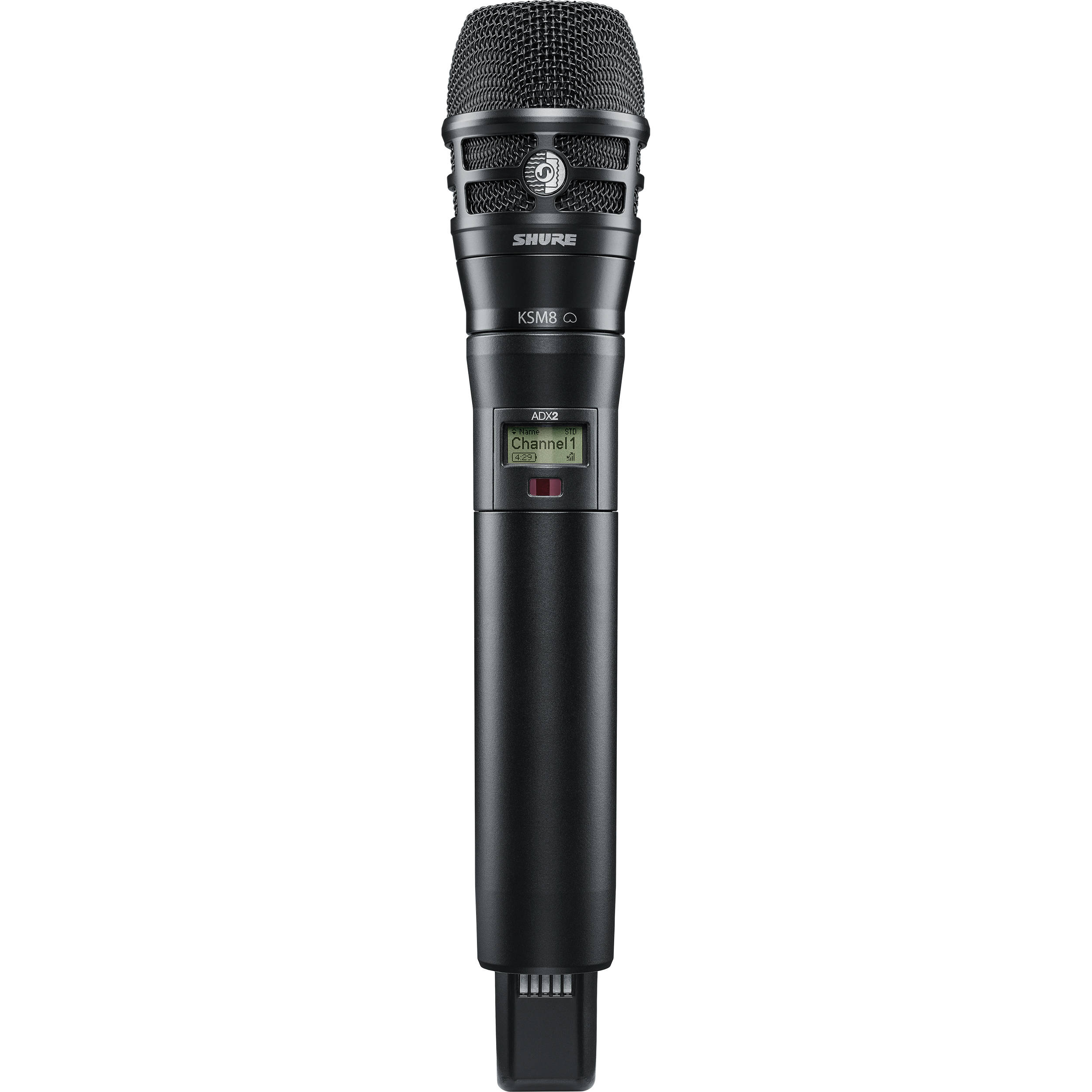 shure adx2 k8b handheld wireless microphone adx2 k8b g57 b h. Black Bedroom Furniture Sets. Home Design Ideas