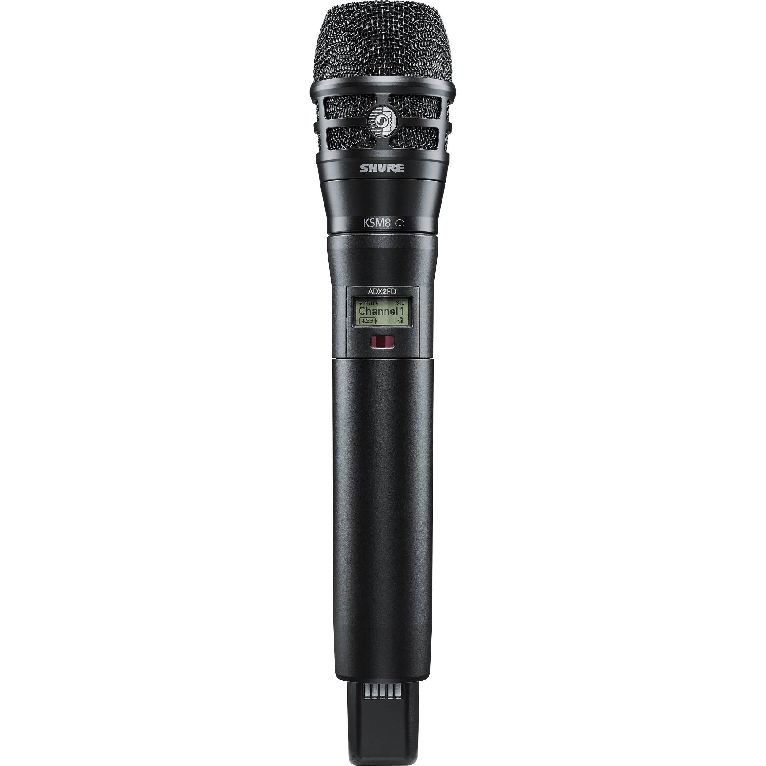 Handheld Wireless Microphone Transmitter : shure adx2fd k8b digital handheld wireless adx2fd k8b g57 b h ~ Hamham.info Haus und Dekorationen
