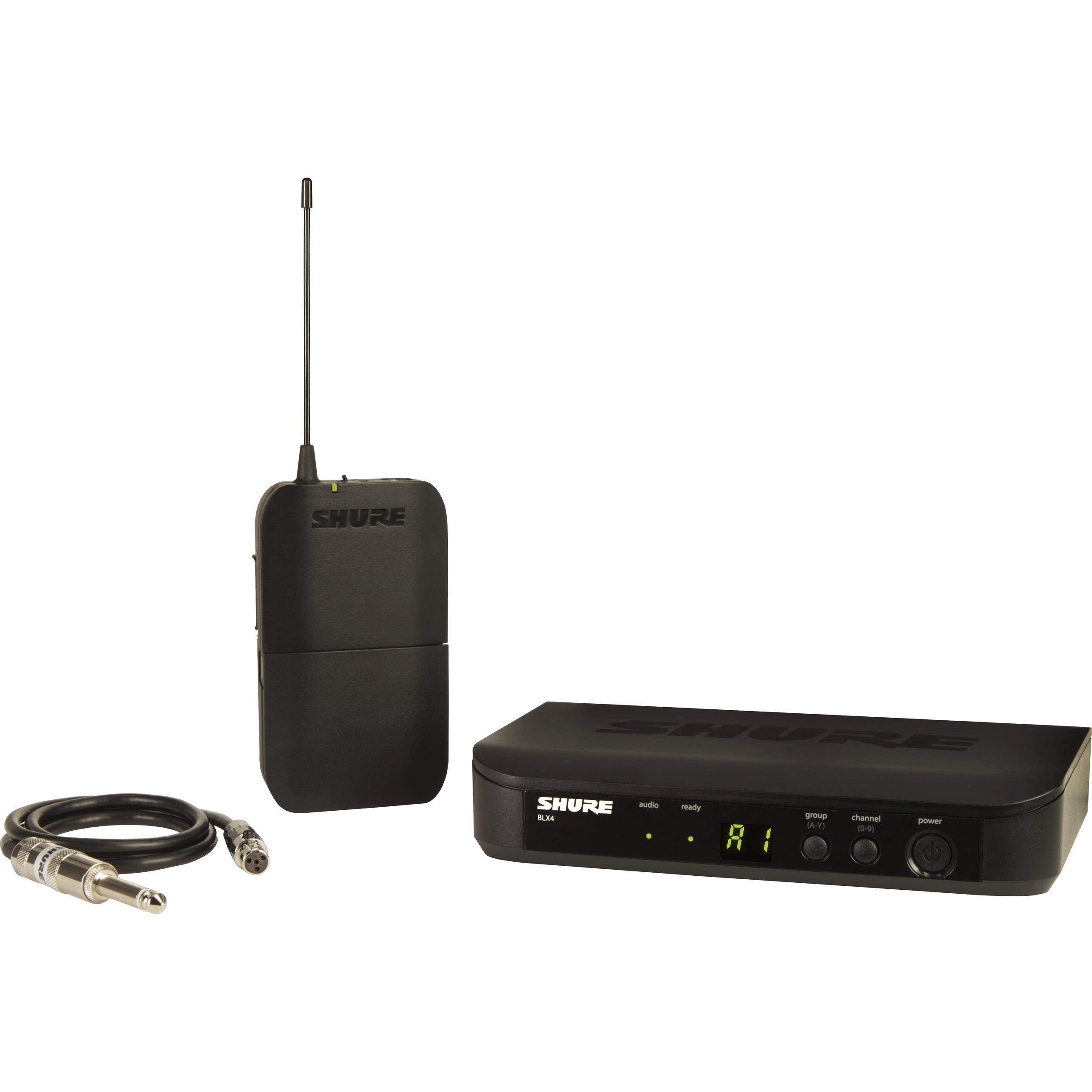 Shure BLX14 Bodypack Wireless System for Guitar or BLX14 ...