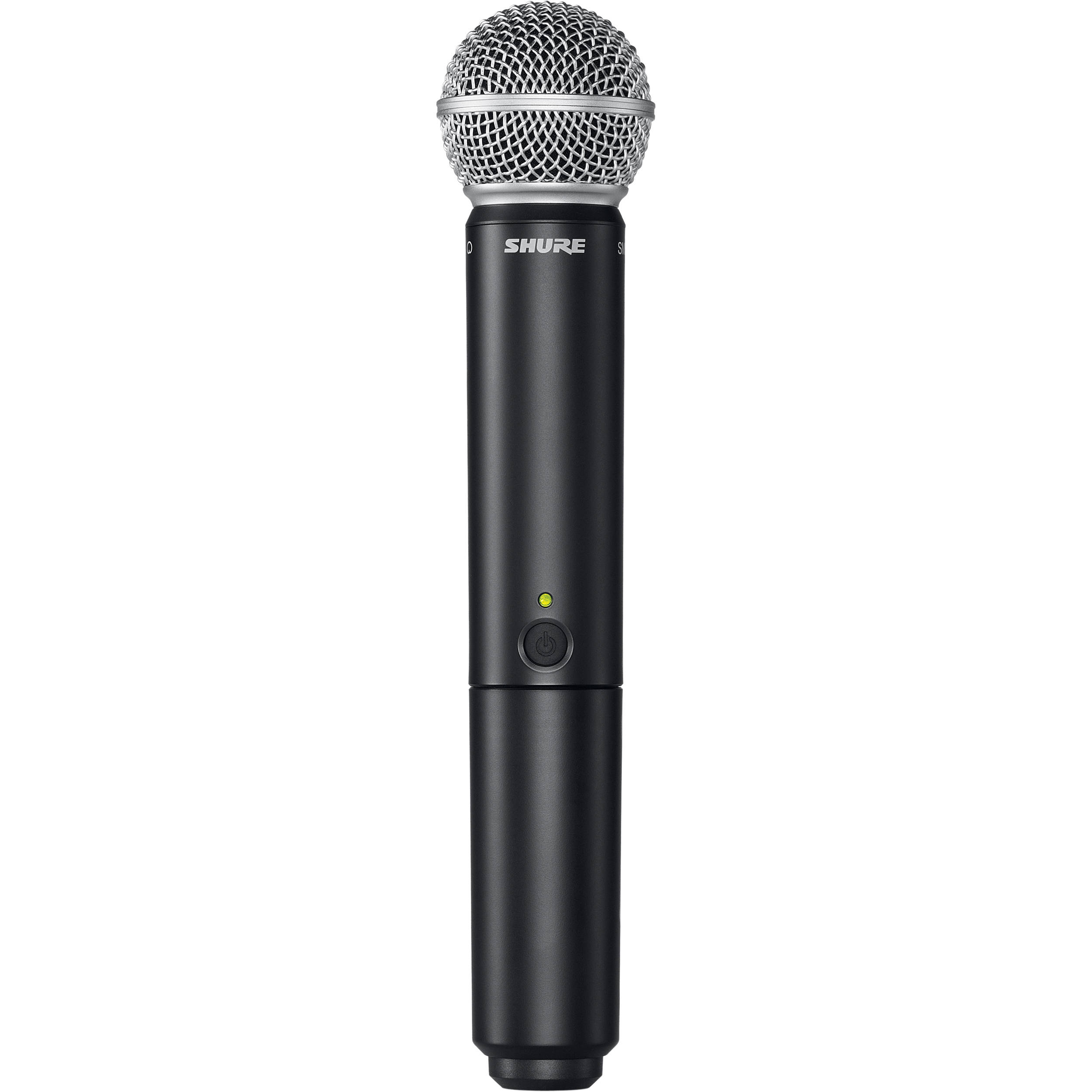 shure blx2 sm58 handheld wireless microphone blx2 sm58 h9 b h. Black Bedroom Furniture Sets. Home Design Ideas