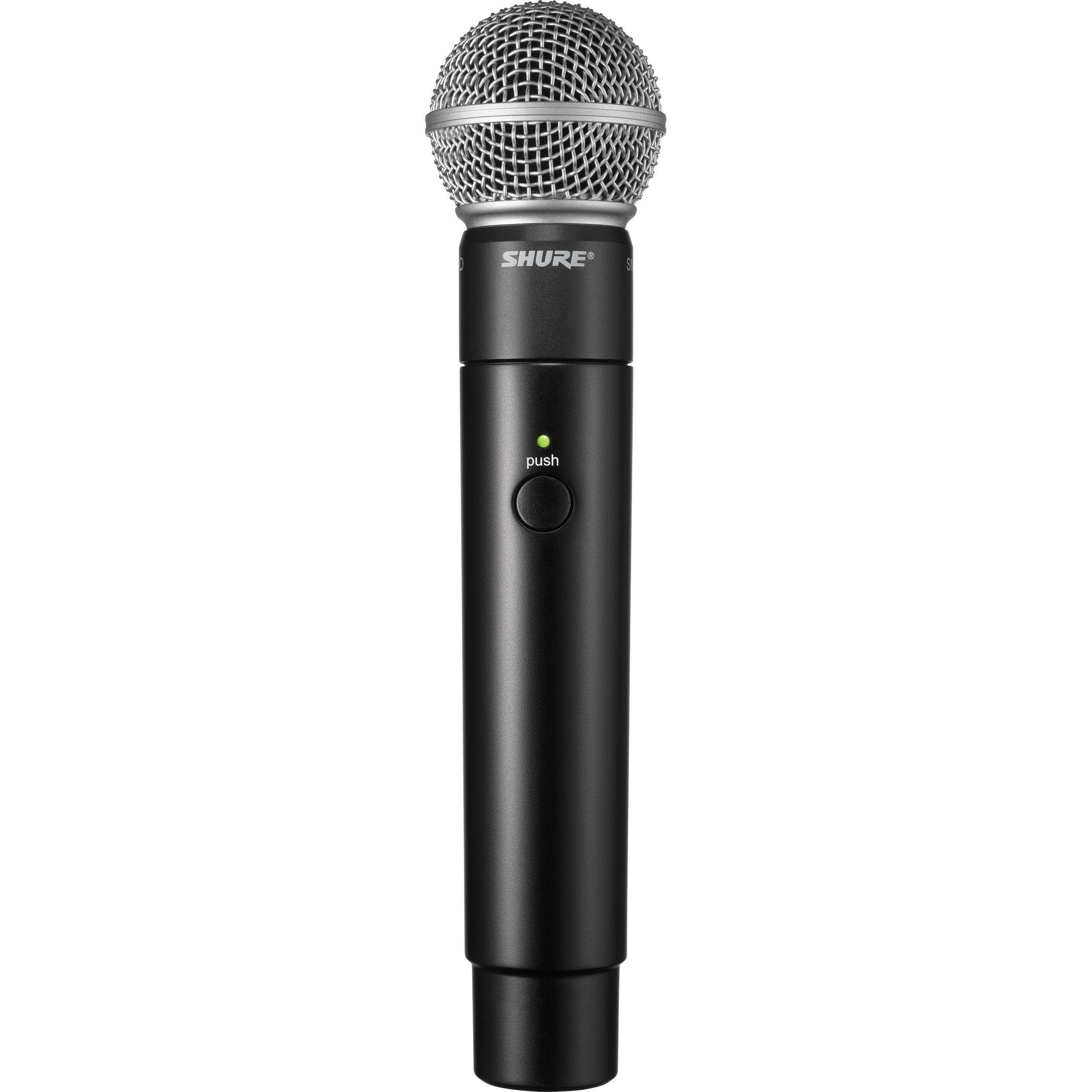shure mxw2 handheld transmitter with sm58 microphone mxw2 sm58. Black Bedroom Furniture Sets. Home Design Ideas