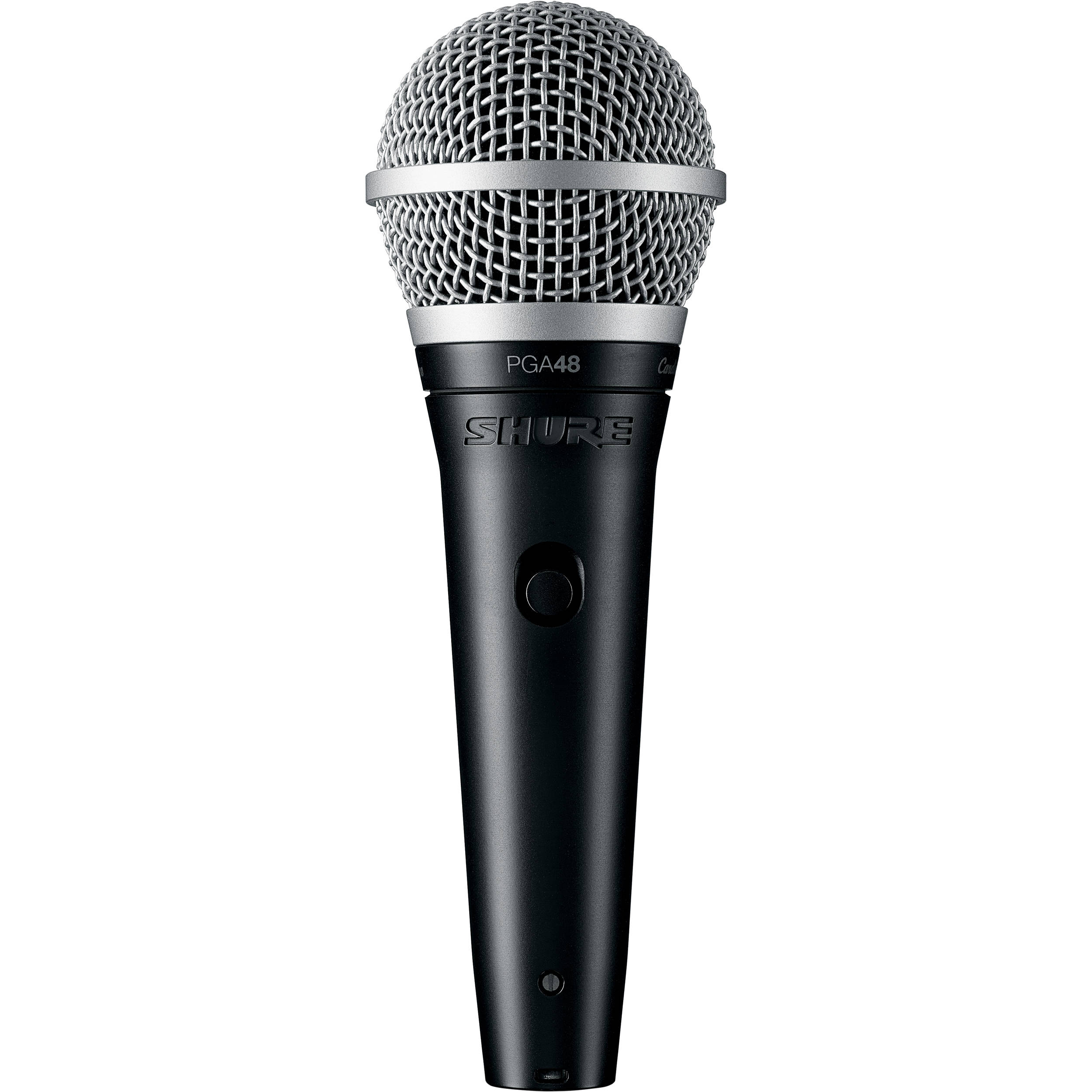 shure pga48 dynamic vocal microphone no cable pga48 lc b h. Black Bedroom Furniture Sets. Home Design Ideas