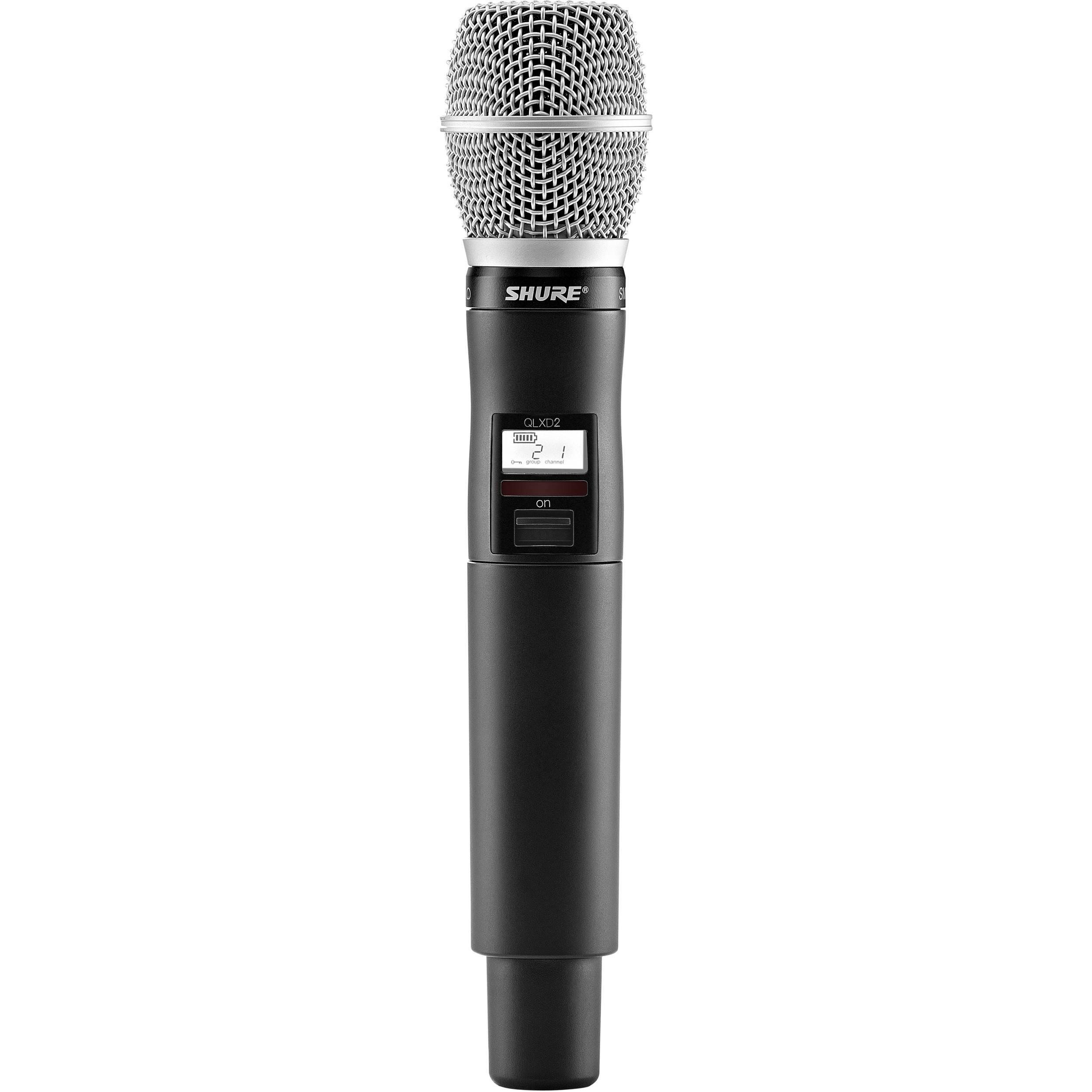 Handheld Wireless Microphone Transmitter : shure qlxd2 sm86 digital handheld wireless qlxd2 sm86 x52 b h ~ Hamham.info Haus und Dekorationen