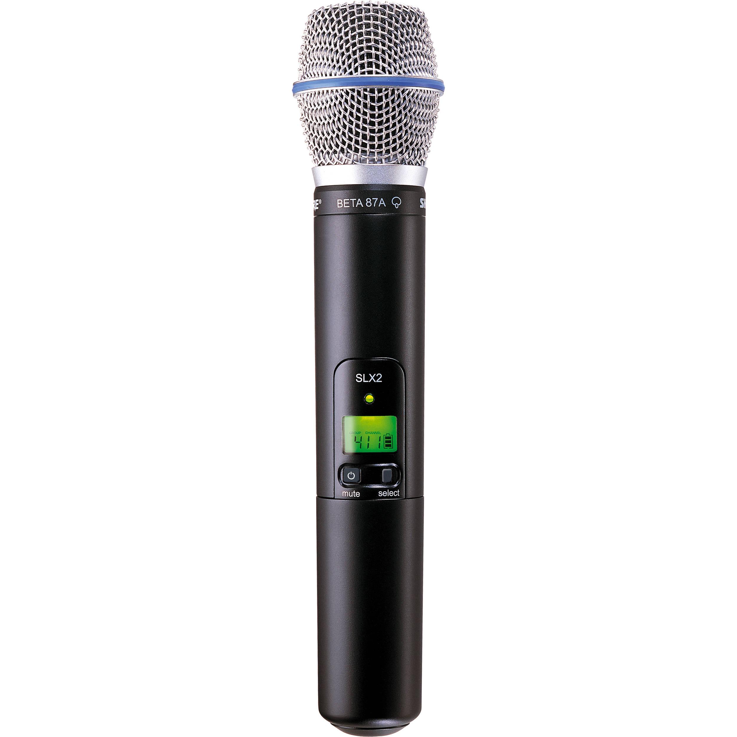 Shure Slx2 Handheld Wireless Uhf Transmitter With Sm58 Microphone : shure slx2 handheld wireless uhf transmitter slx2 beta87a h19 ~ Russianpoet.info Haus und Dekorationen