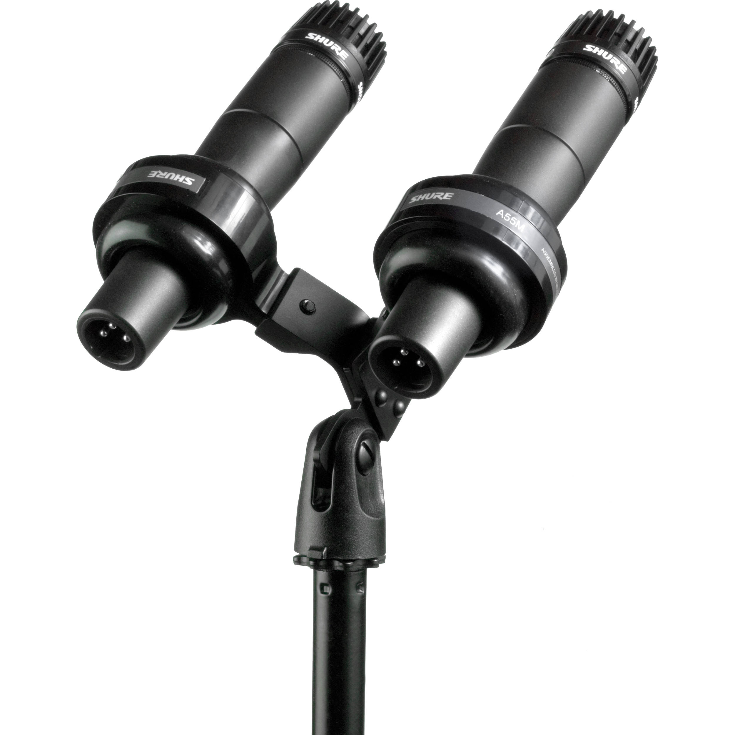 shure sm57 vip dual microphone high profile kit sm57vip b h. Black Bedroom Furniture Sets. Home Design Ideas