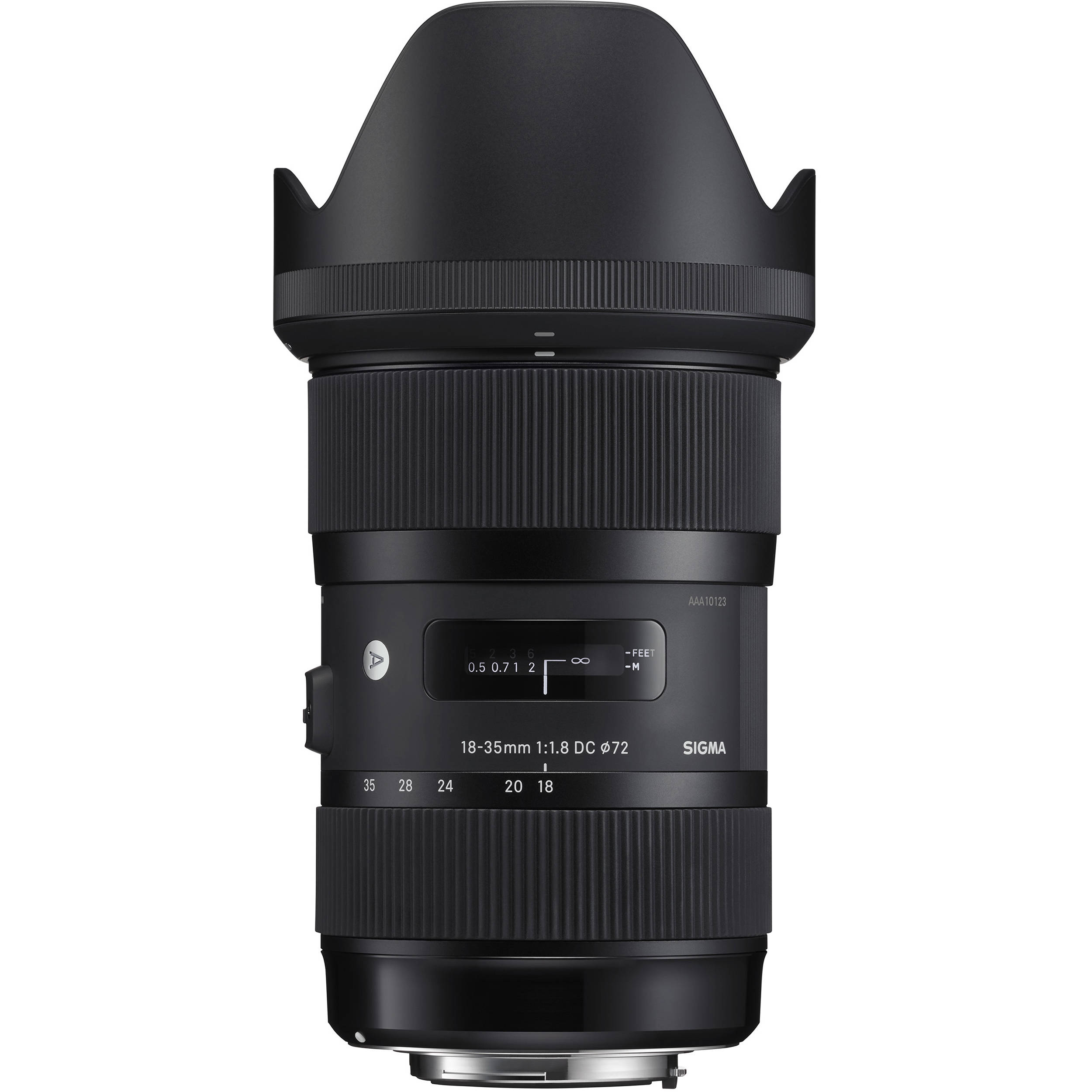 Sigma 18-35mm f/1.8 DC HSM Art Lens for Sony A 210-205 B&H Photo