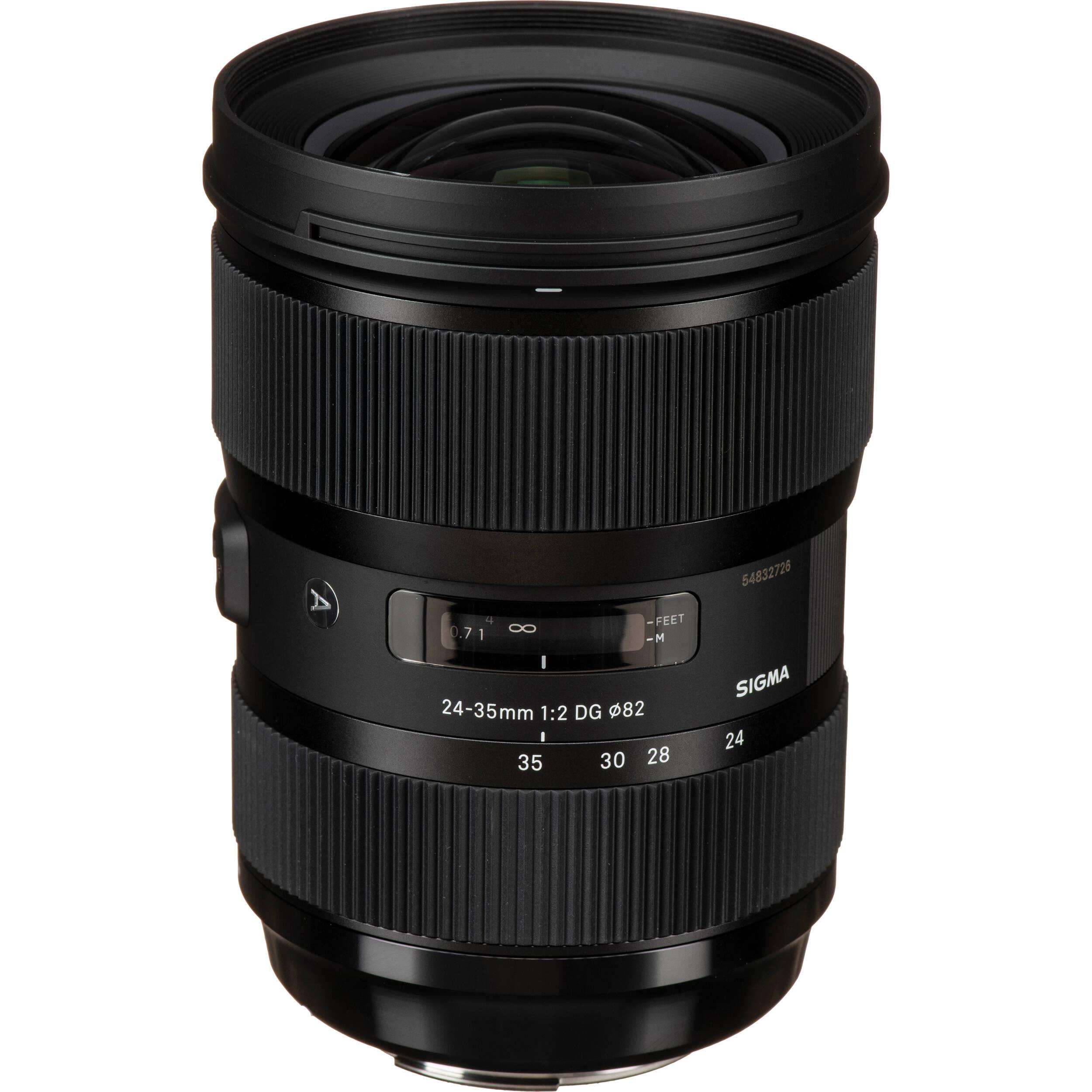 Sigma 24 35mm F 2 Dg Hsm Art Lens For Canon Ef 588954 B Amp H