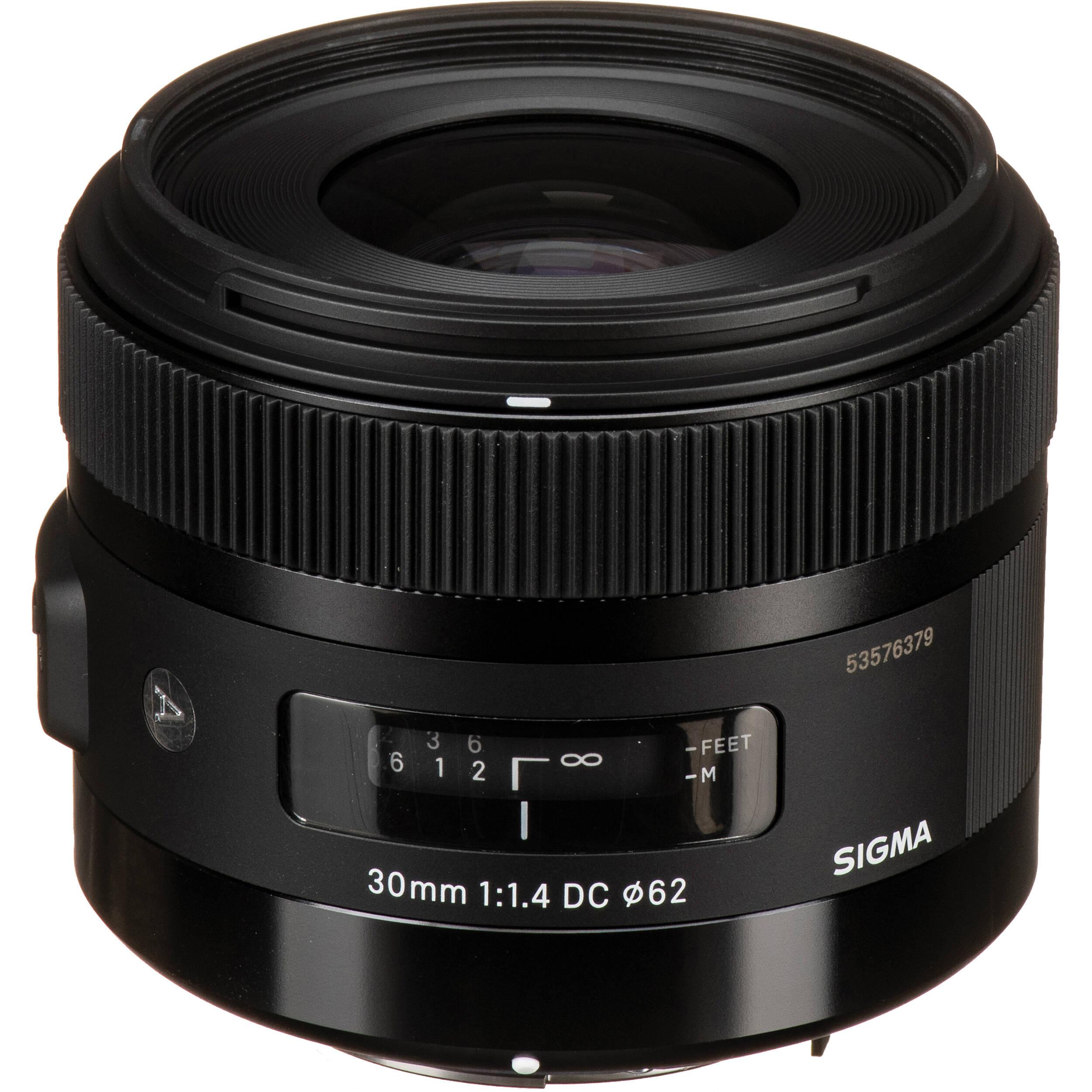Sigma 30mm F 1 4 Dc Hsm Art Lens For Pentax 301109 B H Photo