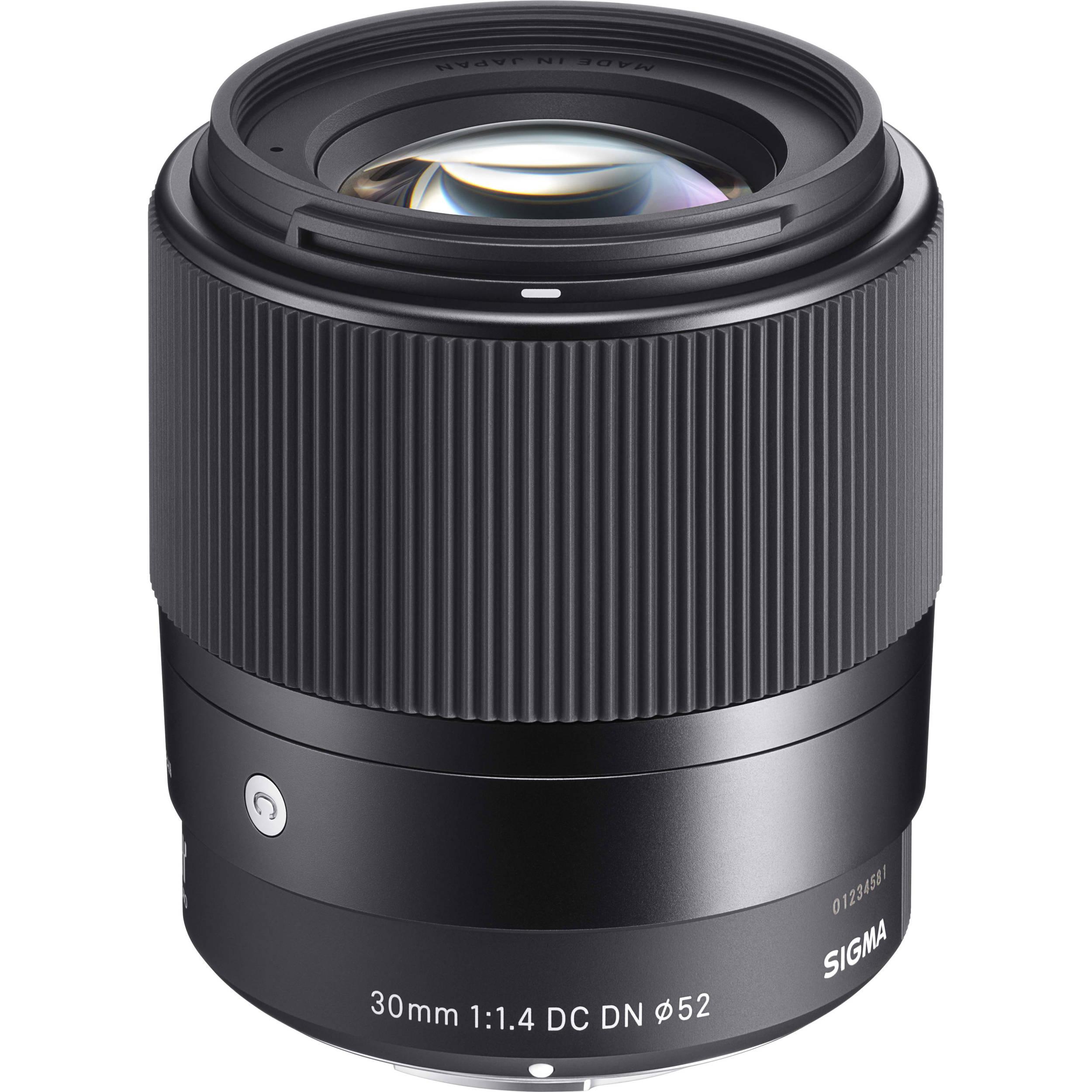 39160c4f12 Sigma 30mm f/1.4 DC DN Contemporary Lens for Sony E 302965 B&H