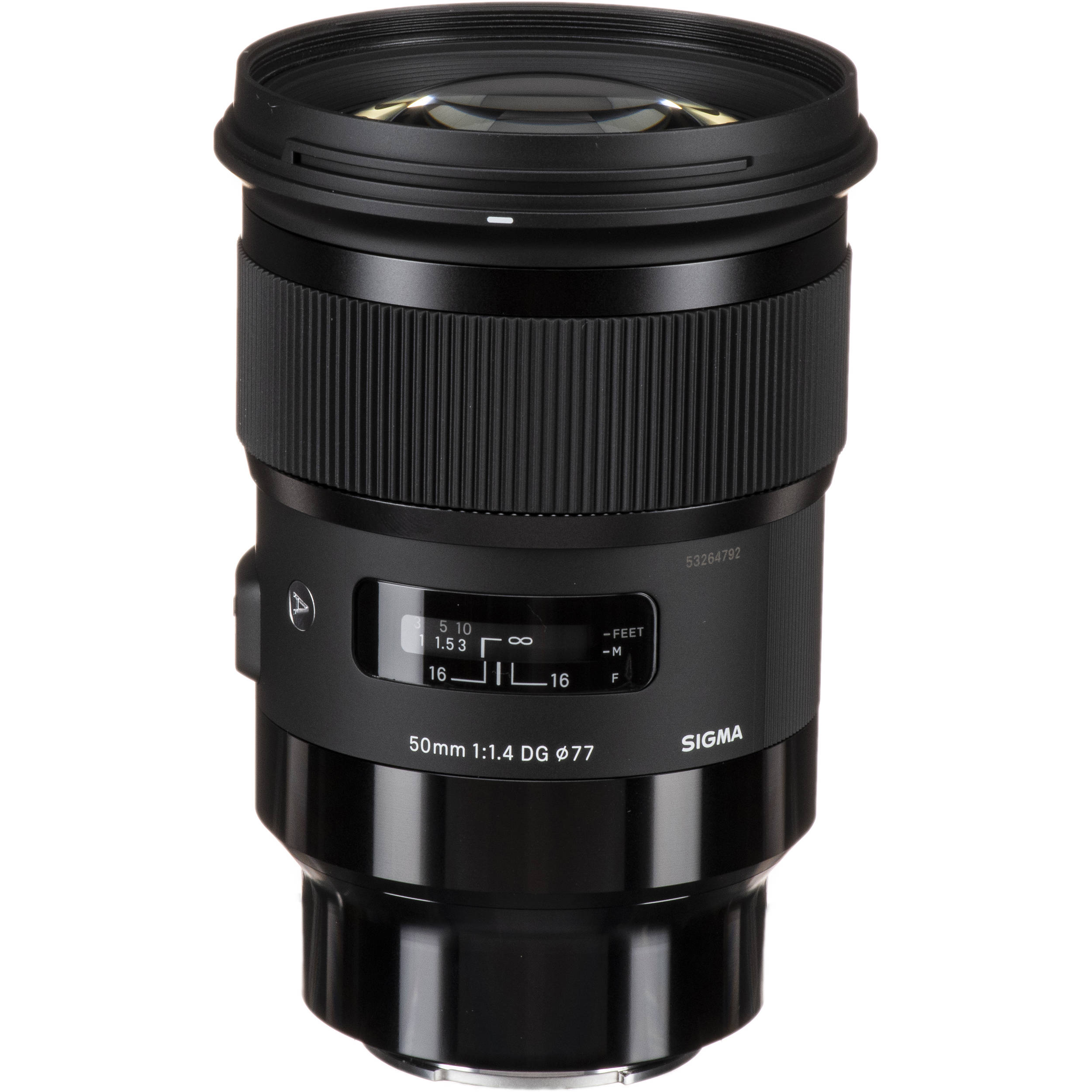 Sigma 50mm F 1 4 Dg Hsm Art Lens For Sony E 311965 B H Photo