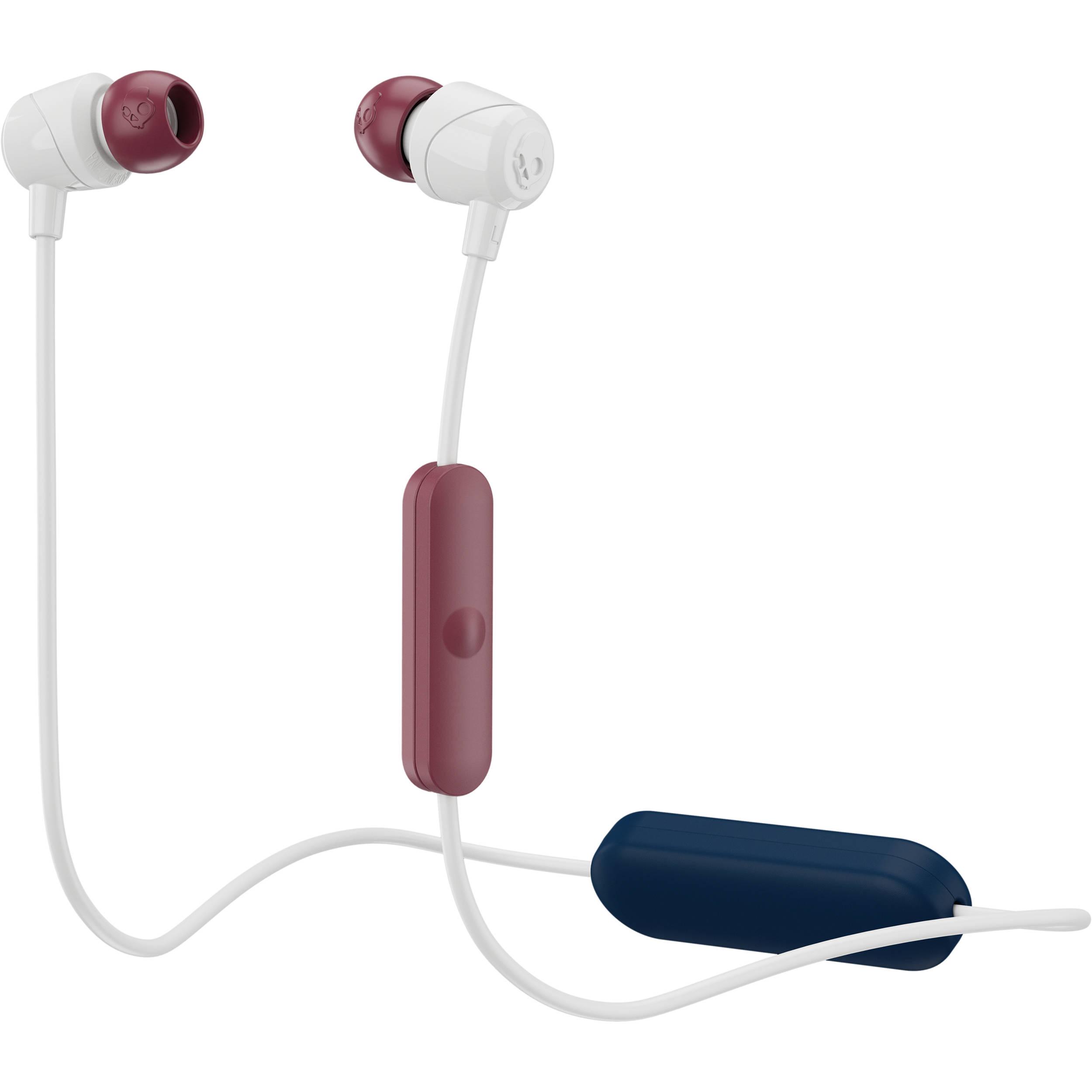 664572a2125 Skullcandy Jib Wireless Earbuds (Vice Gray Crimson) S2DUW-L677