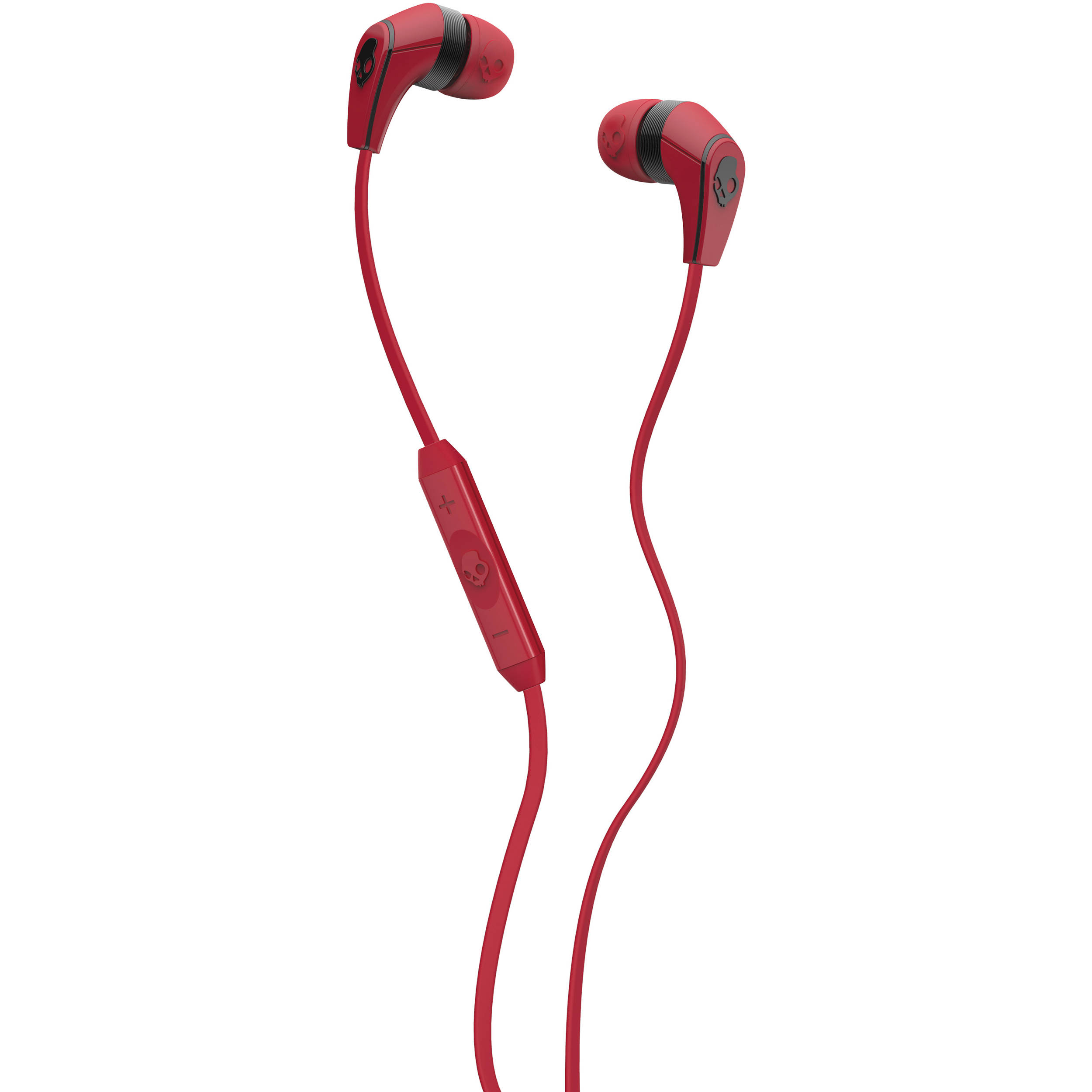 Earbuds skullcandy red - Sudio TVÅ - earphones with mic Overview