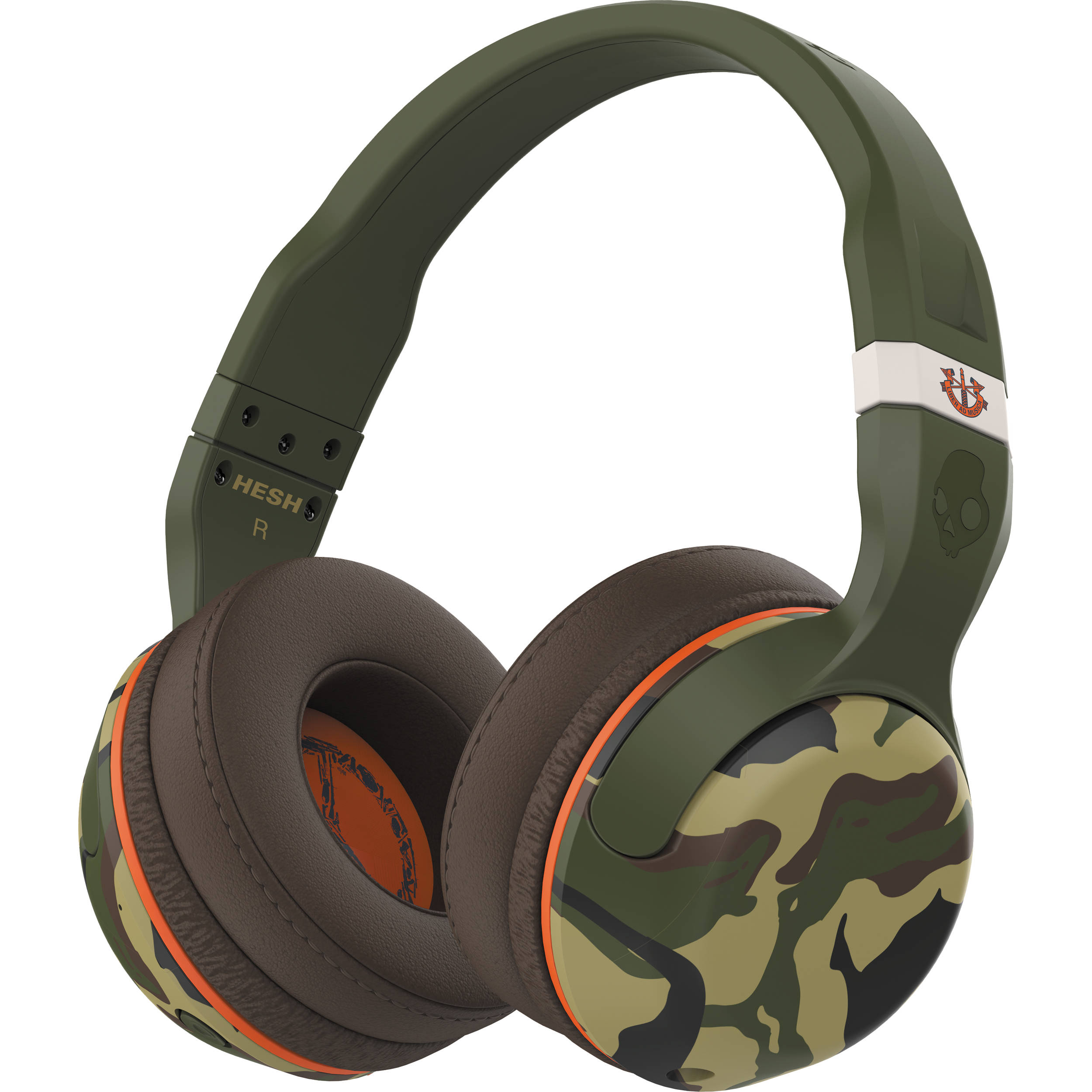 Skullcandy Hesh 2 Wireless Bluetooth Headphones (Camo)