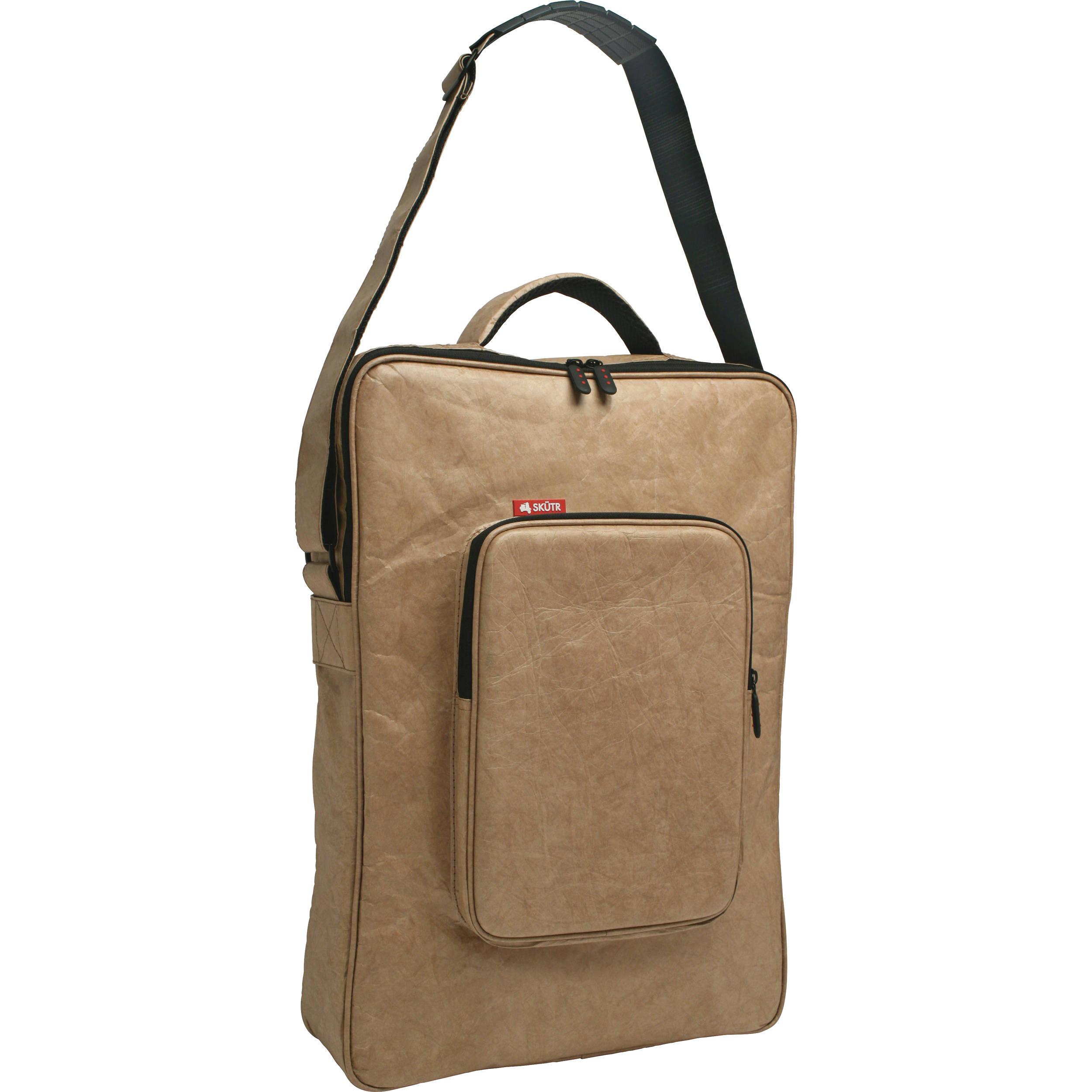 Skutr Art Tablet Portfolio Bag 13 X 19 Brown Tyvek