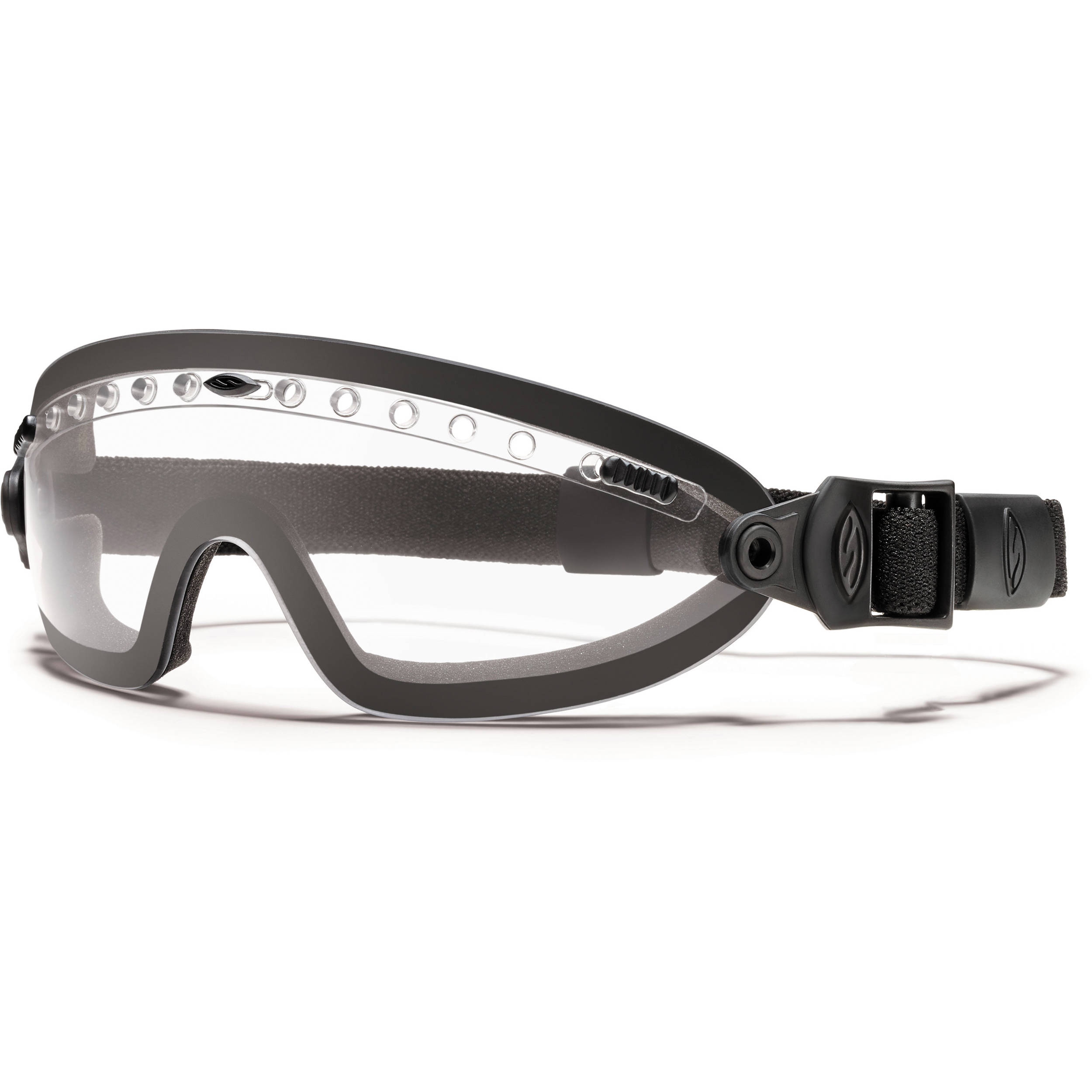 75a2eb6acf Smith Optics Boogie Sport Hybrid Goggle - (Black - Clear Lens - Asian Fit)
