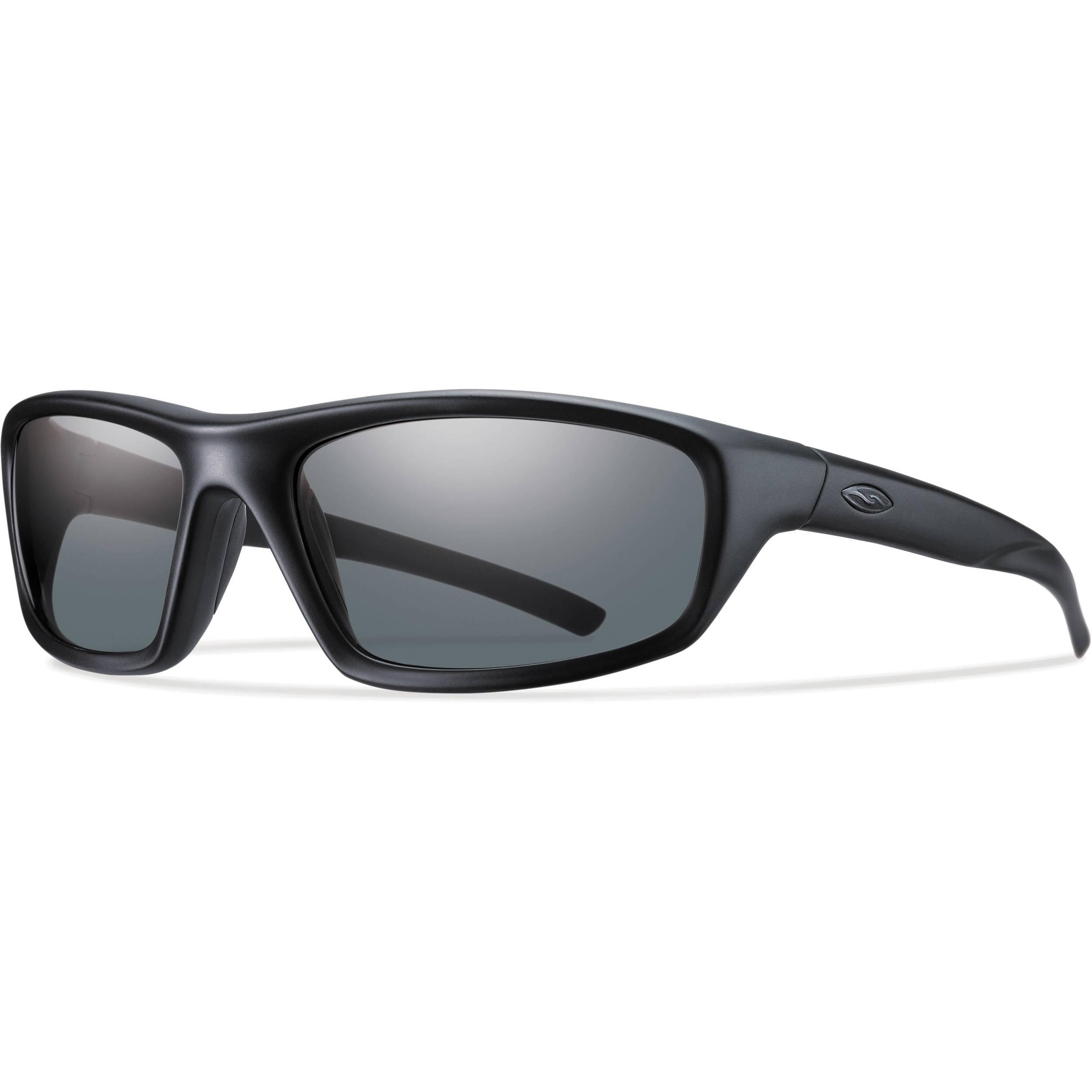 866498f2e3 Smith Optics Director Elite Tactical Sunglasses (Black - Polarized Gray Lens )