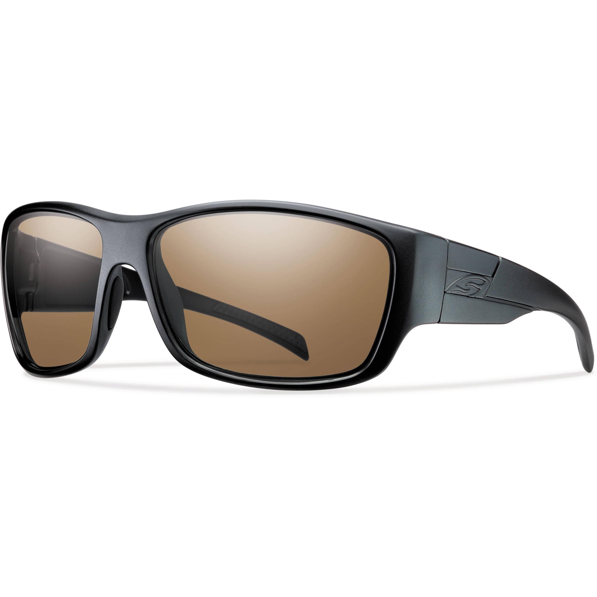 2608cdf0d64 Smith Optics Frontman Elite Tactical Sunglasses (Black - Polarized Brown  Lens)