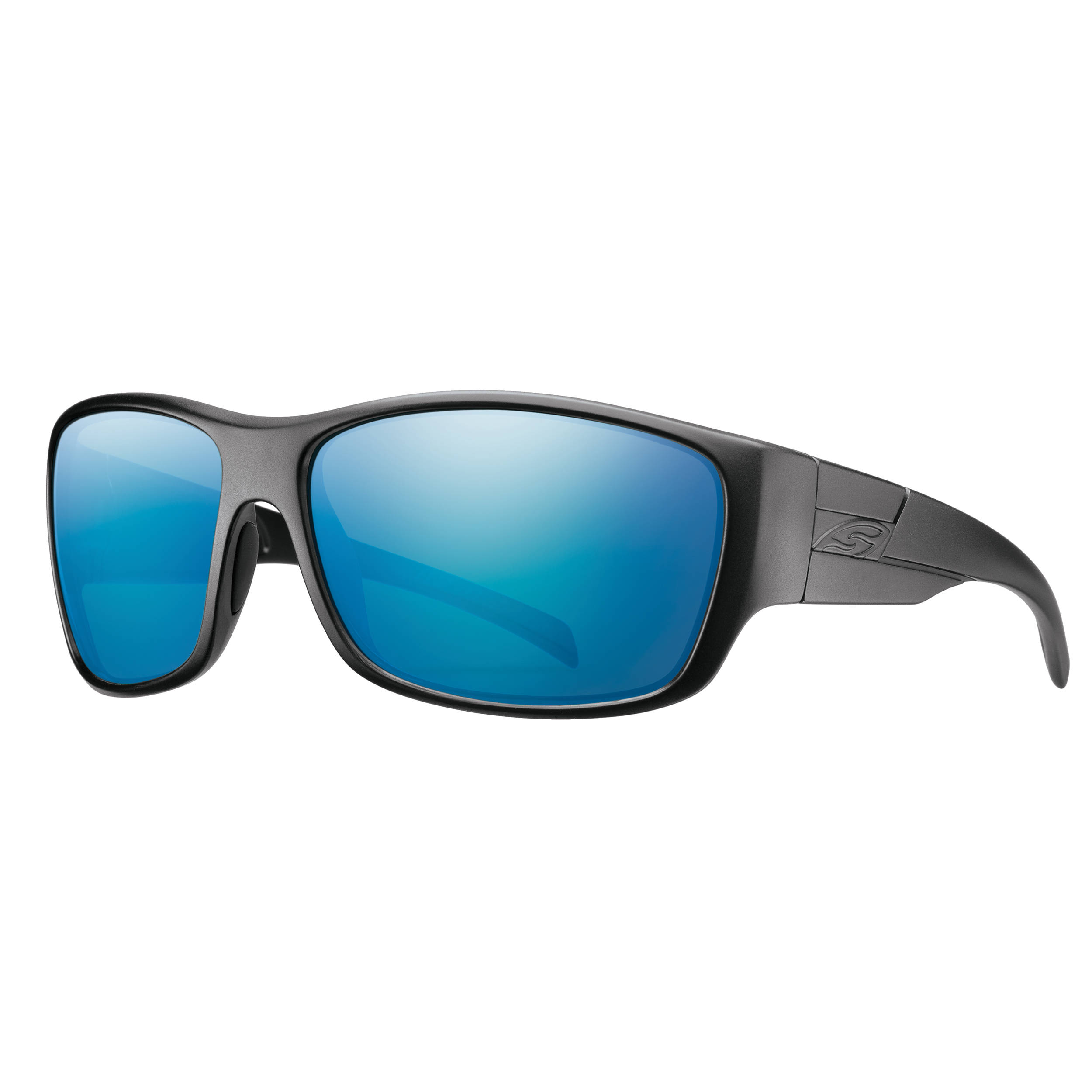 da53c44a9f Smith Optics Frontman Elite Ballistic Sunglasses (Black   ChromaPop Polar  Blue Mirror)