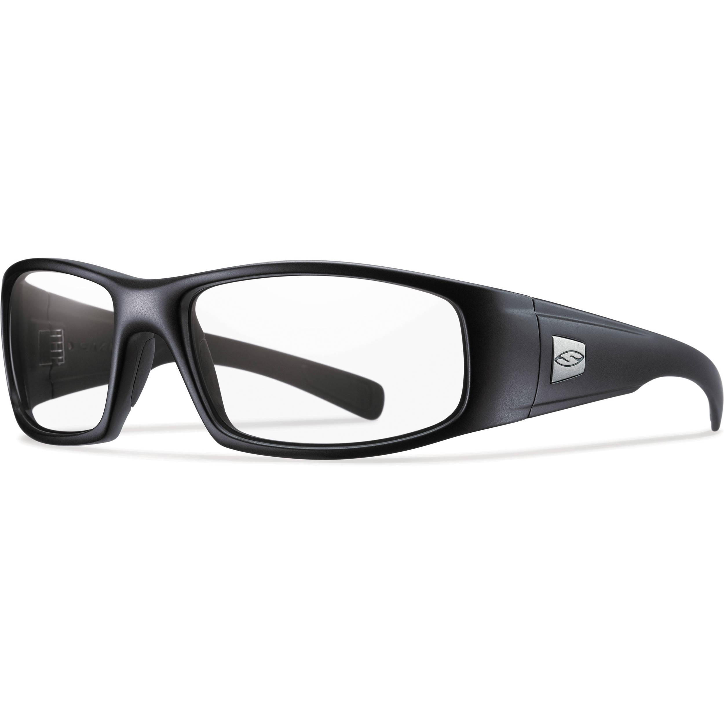 e4eeb47ec4e Smith Optics Hideout Elite Tactical Sunglasses (Black - Clear Lens)