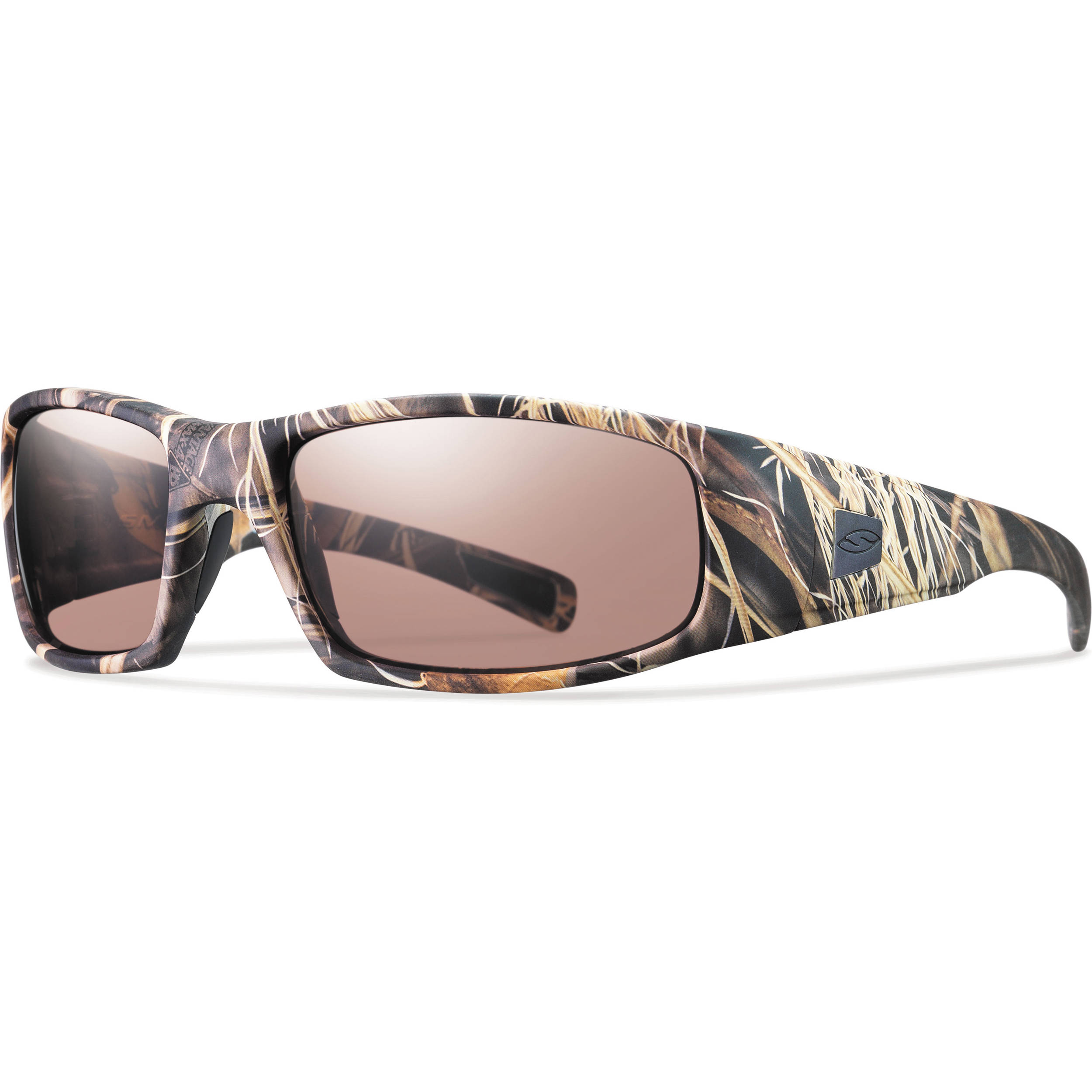 d2dd12f82b Smith Optics Hideout Elite Tactical Sunglasses (Realtree Max-4 - Ignitor  Mirror Lens)