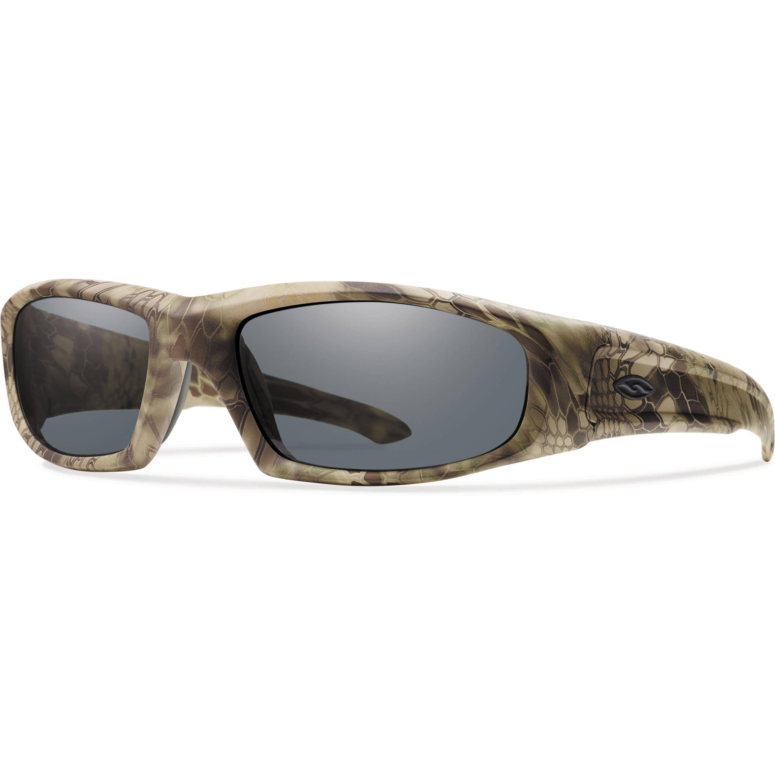 4ea5eea4bc Smith Optics Hudson Elite Tactical Sunglasses (Kryptek Highlander - Gray  Lens)