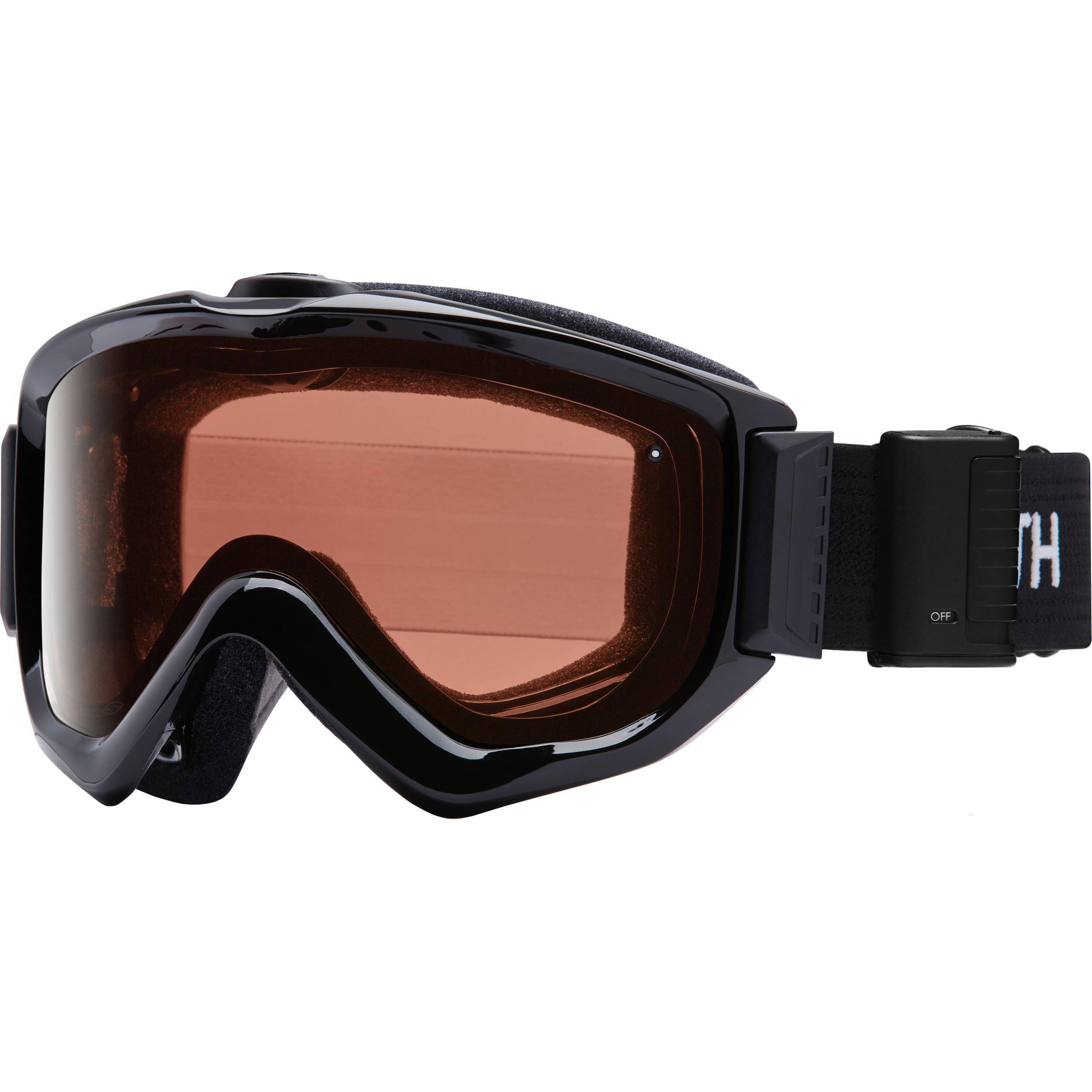 Smith Optics Knowledge Turbo Fan Otg Snow Goggles Kn5ebk16 B Amp H