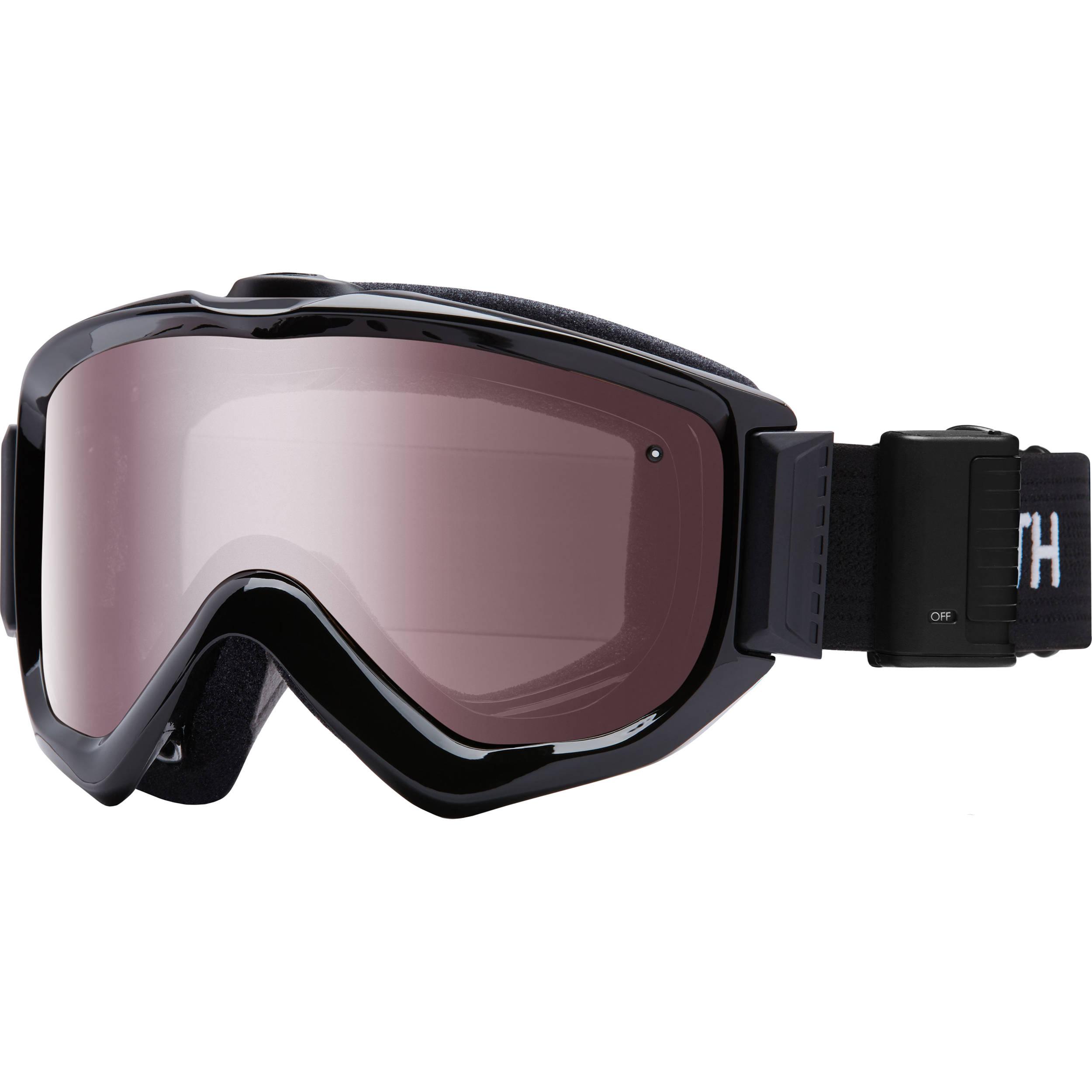 136d8f5e3b4 Smith Optics Knowledge Turbo Fan OTG Snow Goggles KN5IBK16 B H