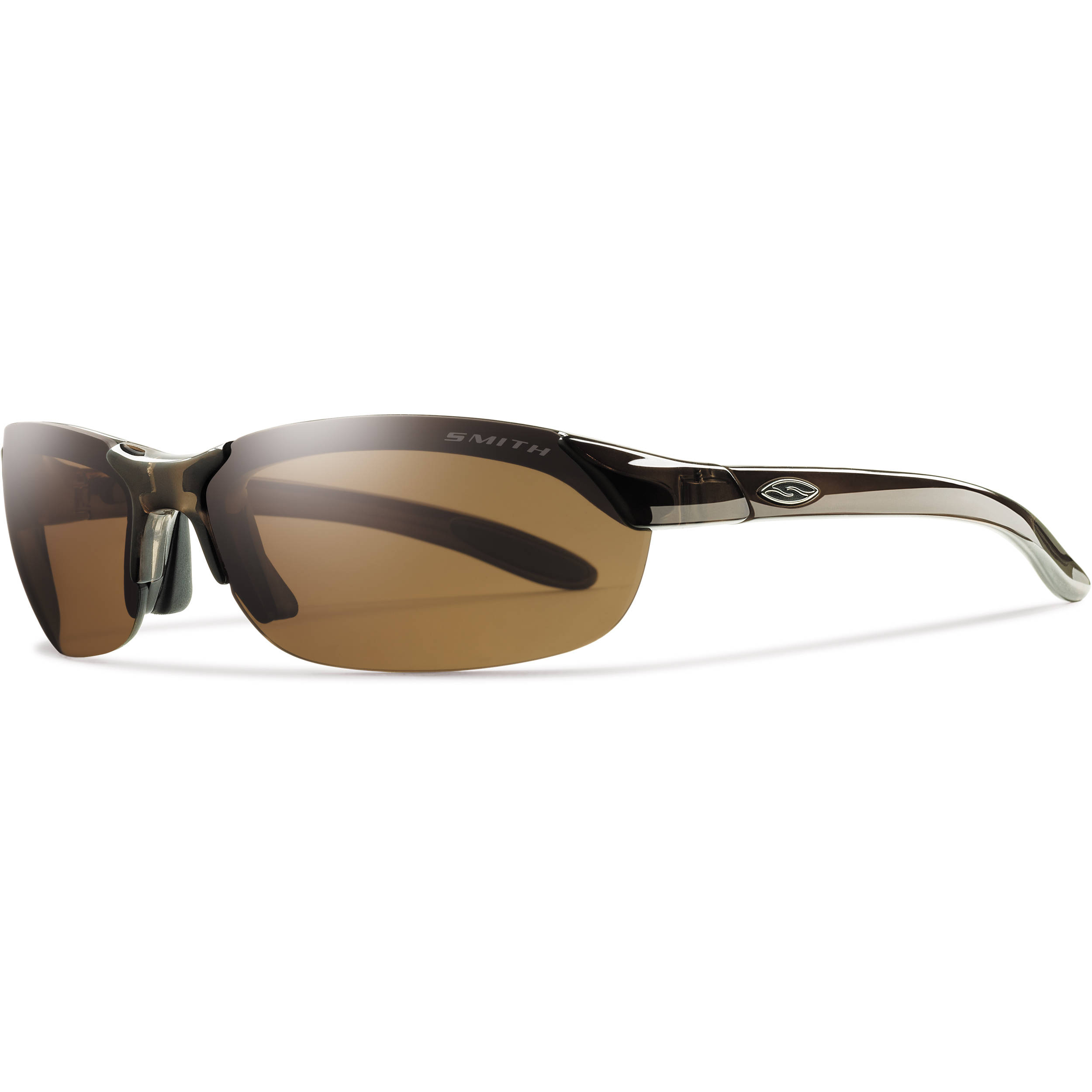 f81543725ede Smith Optics Parallel Sunglasses (Brown - Polarized Brown Ignitor Clear)