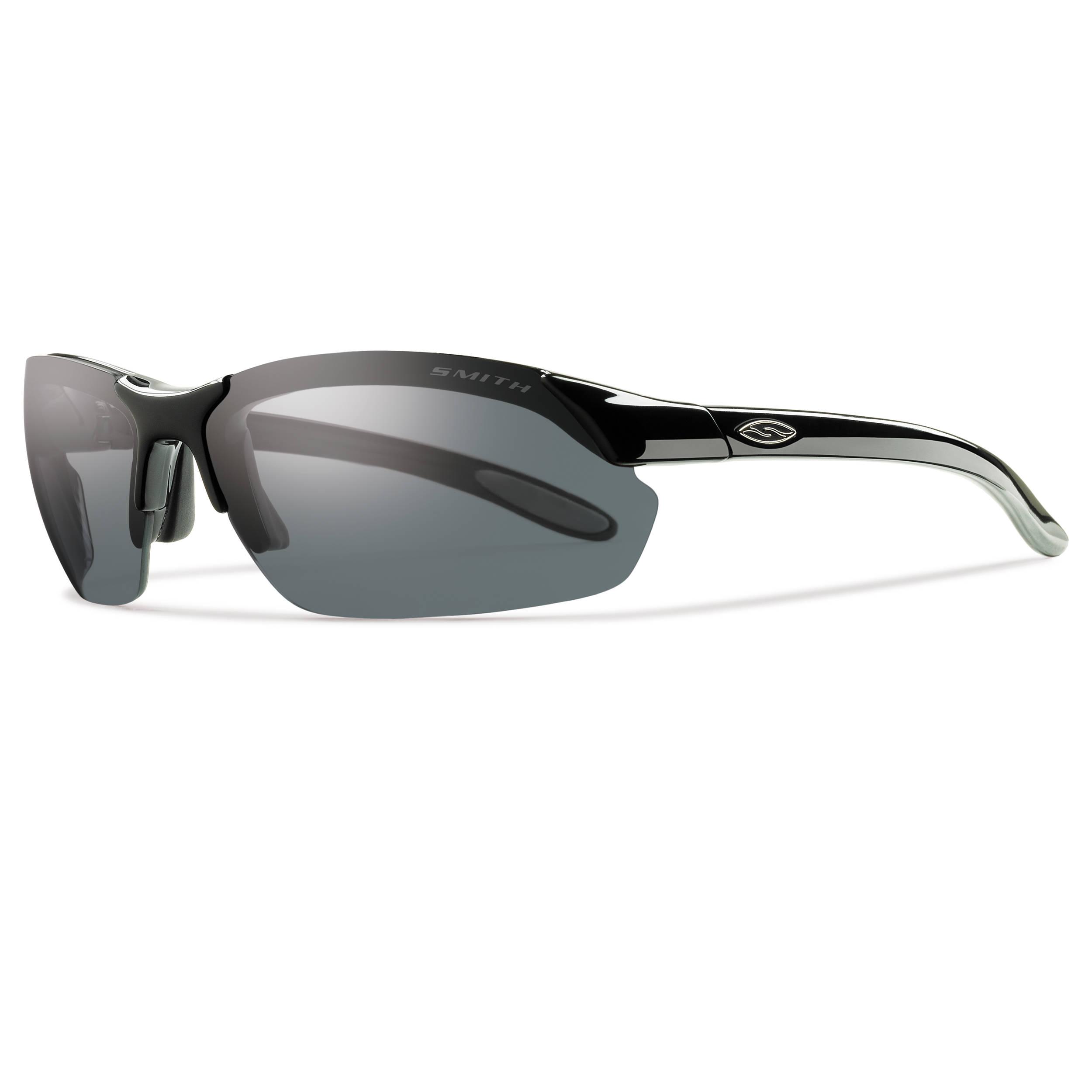 8415325f86 Smith Optics Parallel Max Sunglasses (Black - Polarized Gray Ignitor Clear)