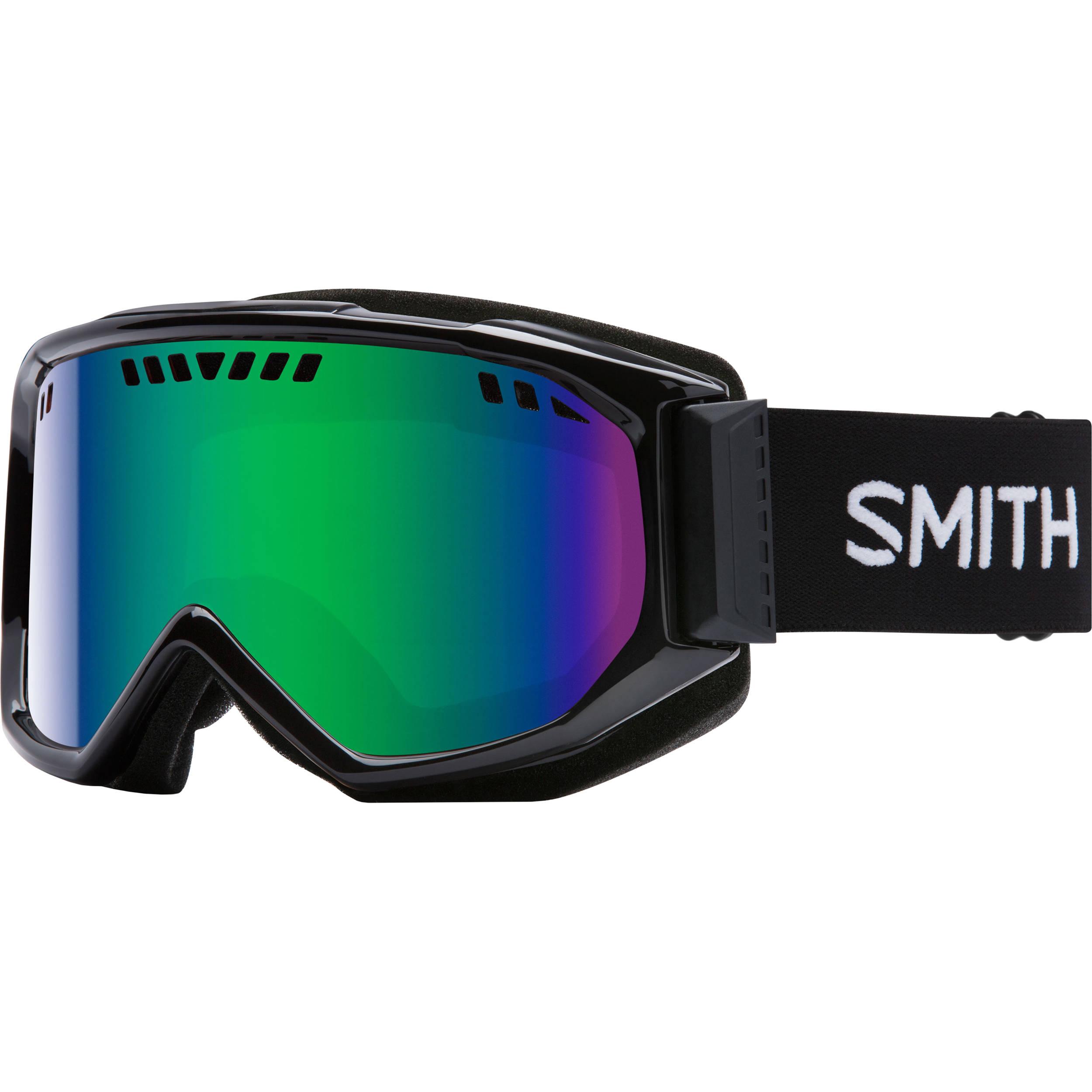 d91b2a1186a5 Smith Optics Medium-Fit Scope Snow Goggle SC3NXBK16 B H Photo