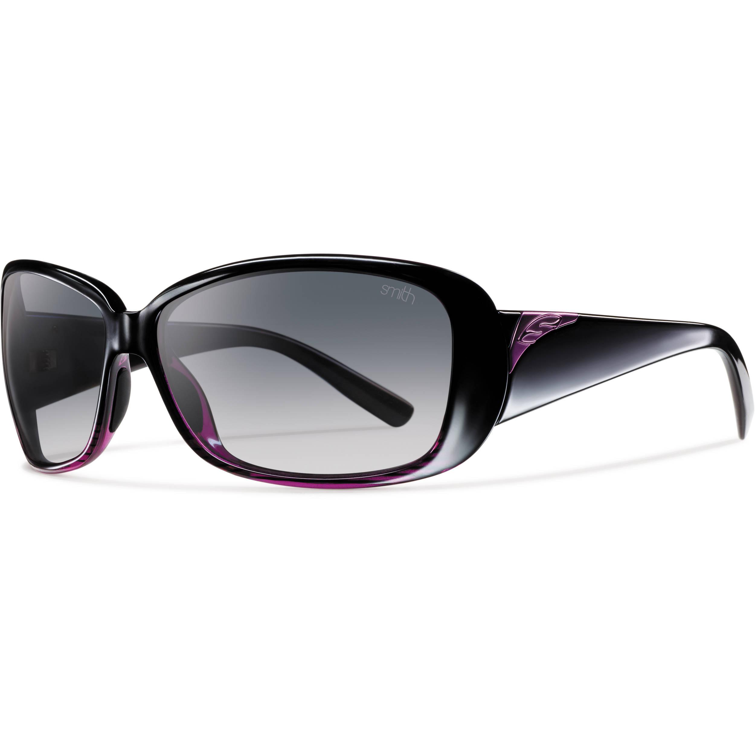 Tlt dividida degradado Optics polarizada negro Smith sol Gafas mujer para gris de Shorewood violeta 4qHAzpwO