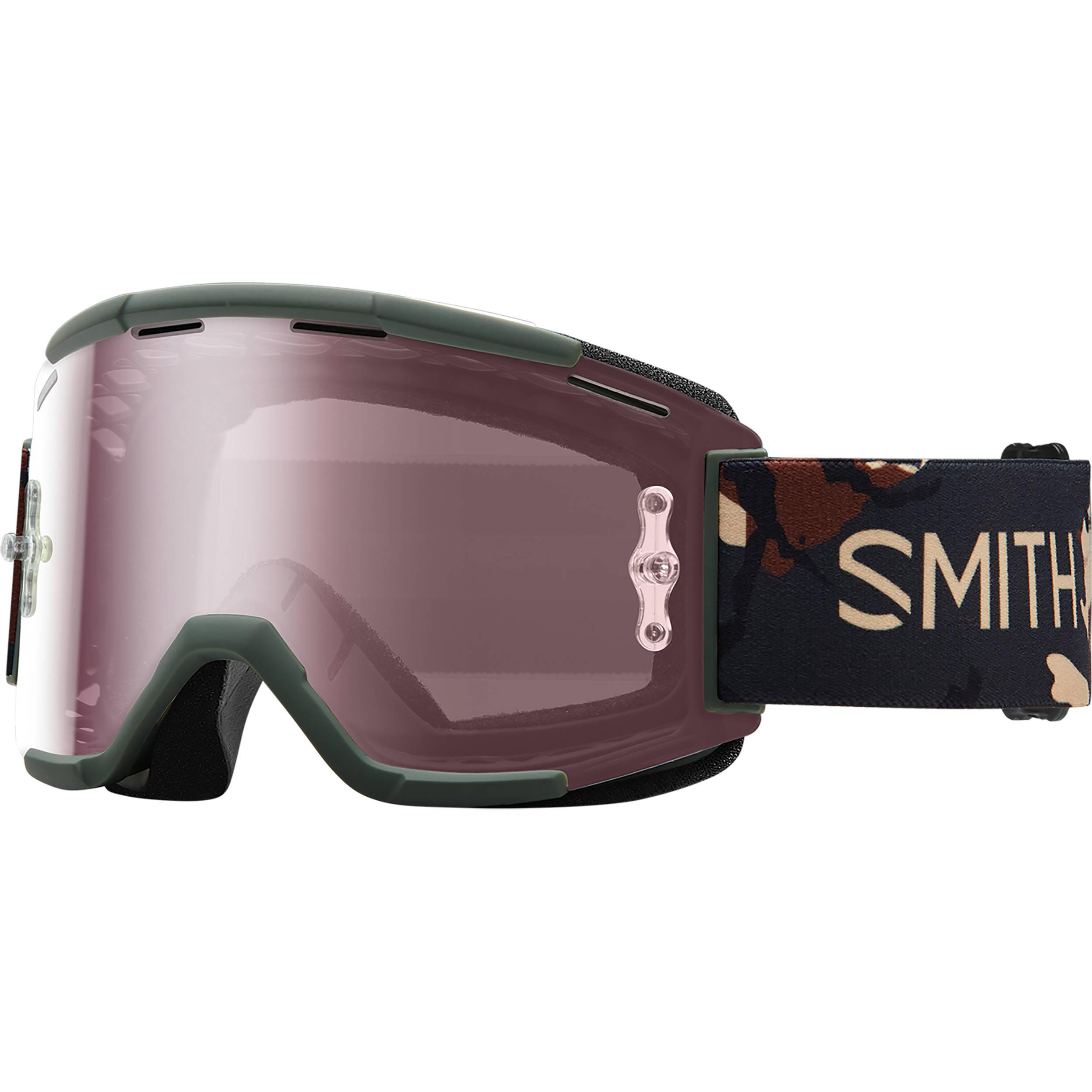 bd7b3be3ab Smith Optics Squad MTB Off Road Goggle SQB1IDIS16 B H Photo