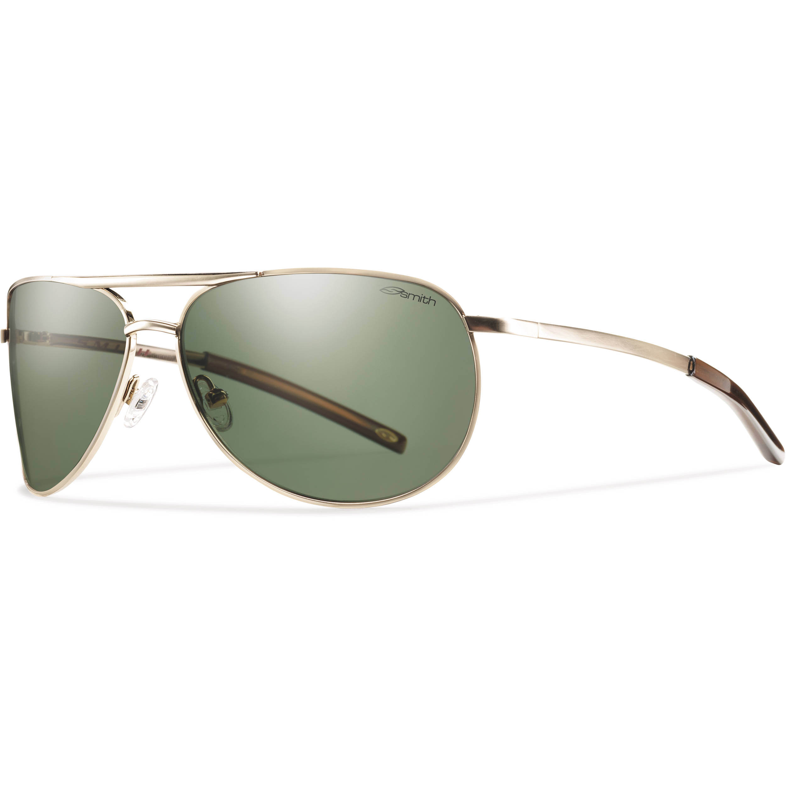 69789e994a Smith Optics Serpico Slim Sunglasses (Gold - Polarized Gray Green Carbonic  TLT)