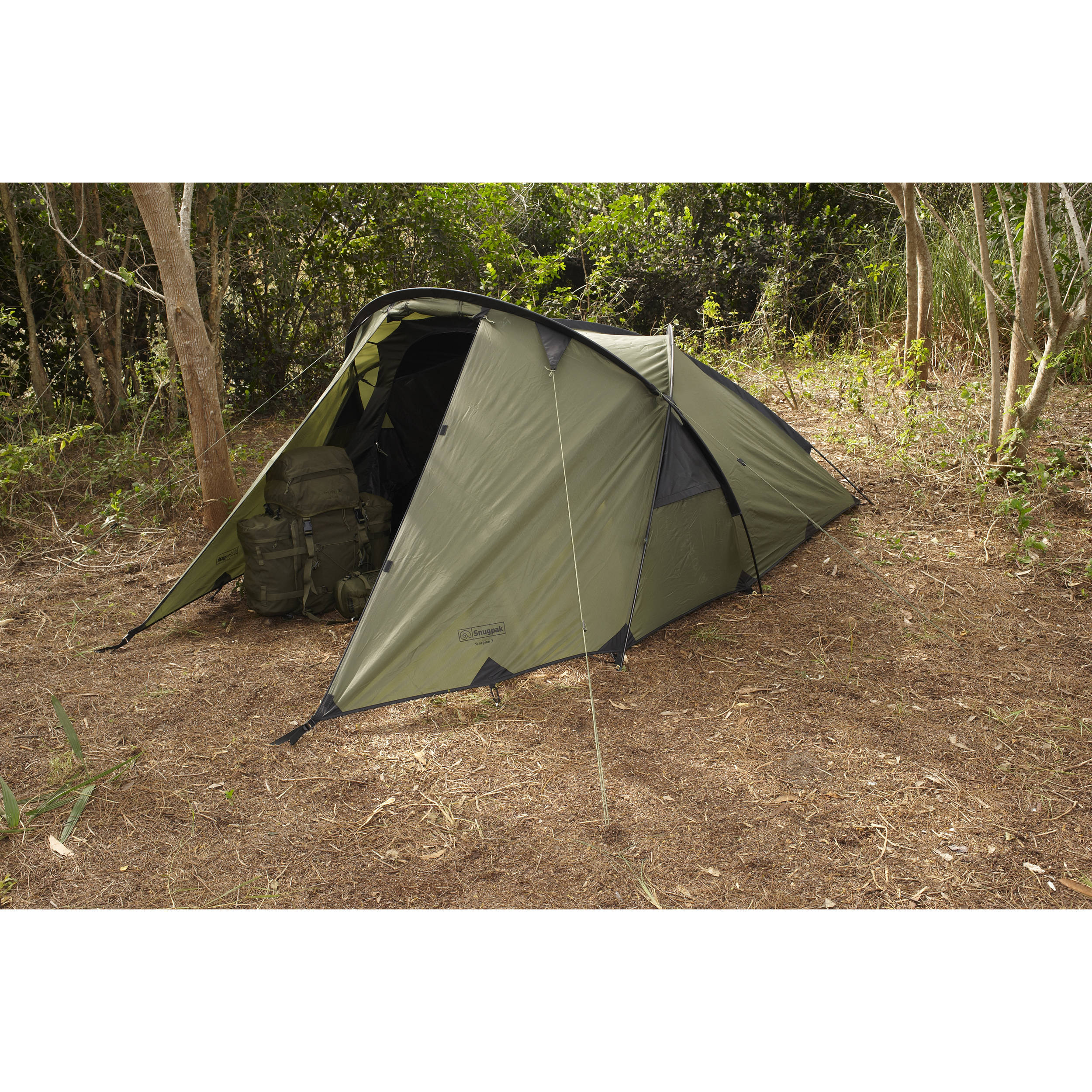 Snugpak Scorpion 3-Person Tent (Olive)  sc 1 st  Bu0026H & Snugpak Scorpion 3-Person Tent (Olive) 92880 Bu0026H Photo Video
