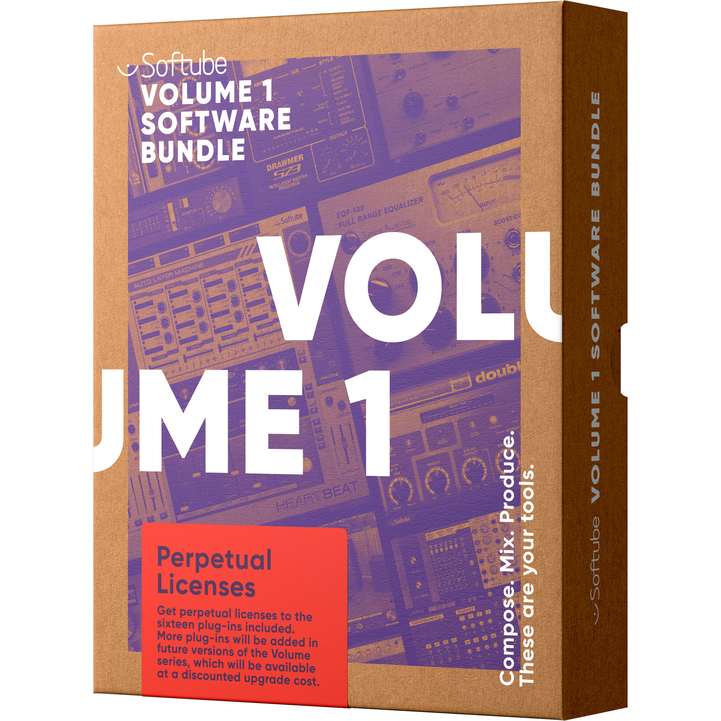 Softube Volume 1 Plug In Bundle Upgrade From Sft Ttb Vol1 Up A Frequency Doubler Effect For Electric Guitar Time And Tone Download