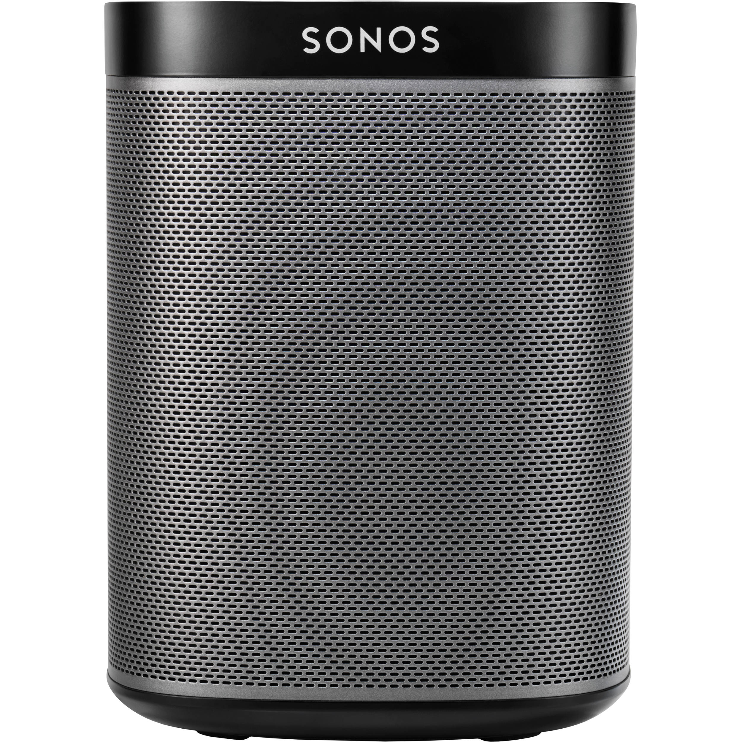 sonos play 1 compact wireless speaker black play1 b b h. Black Bedroom Furniture Sets. Home Design Ideas
