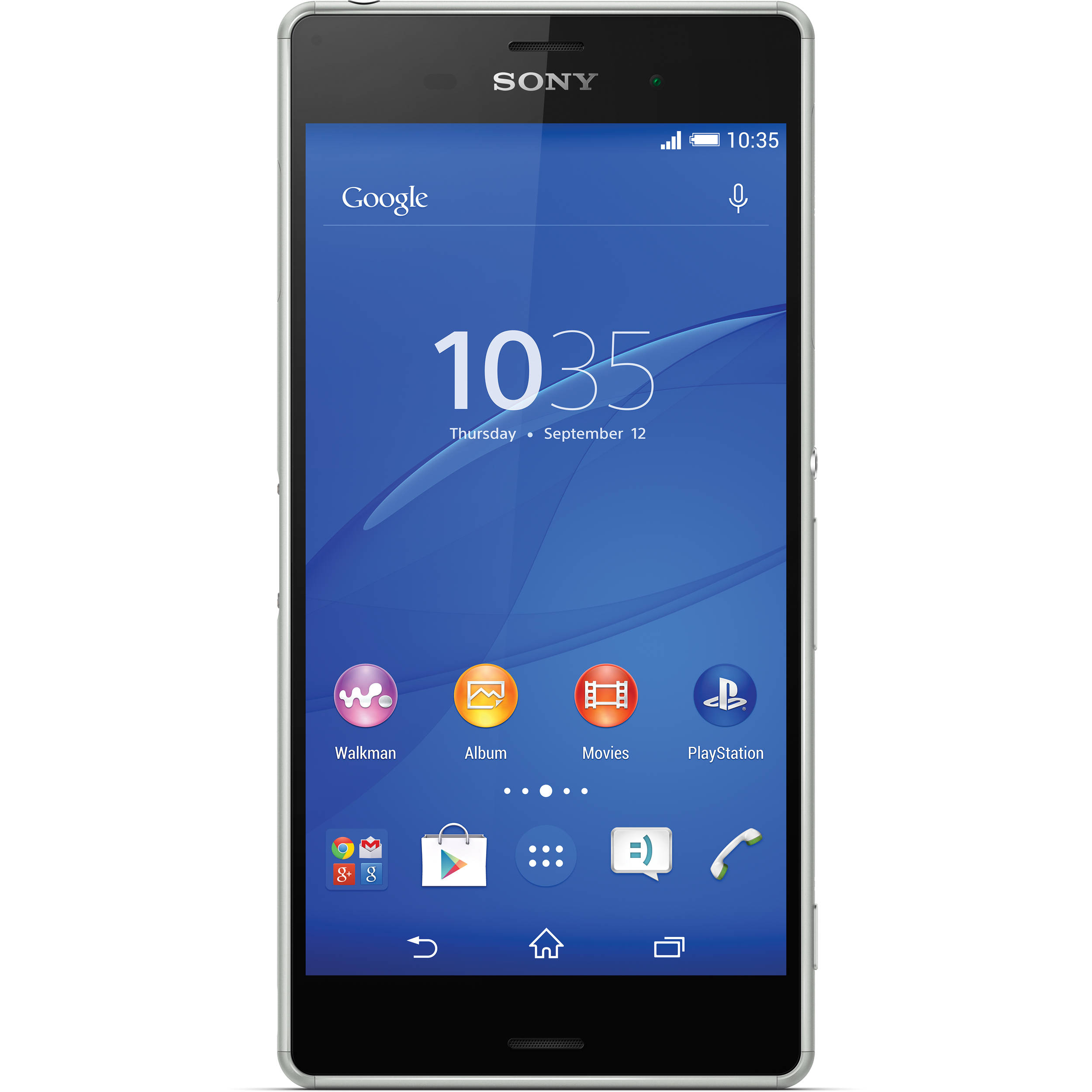 sony xperia z3 d6603 16gb smartphone 1289 4874 b h photo video. Black Bedroom Furniture Sets. Home Design Ideas