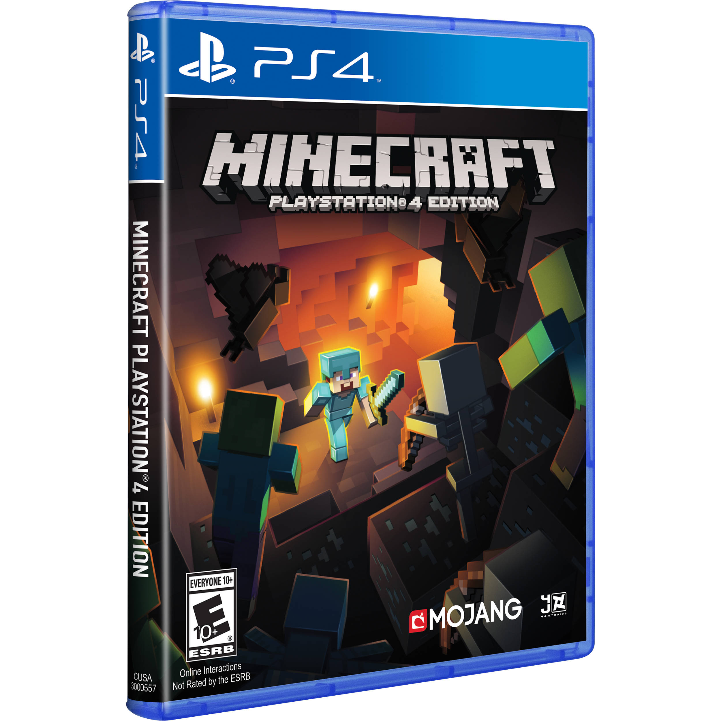4 Games That Comes With Ps4 : Mojang minecraft playstation edition ps  b h