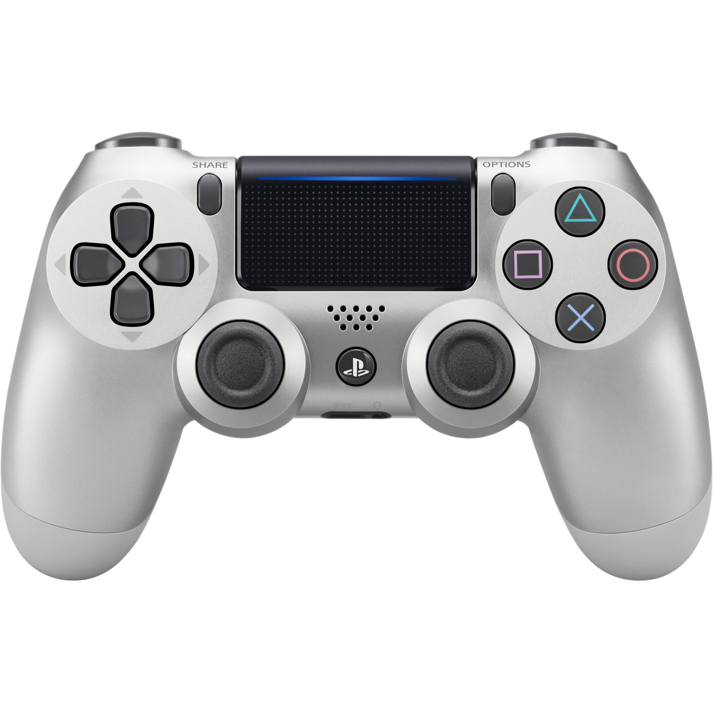 sony dualshock 4 wireless controller silver 3001541 b h photo
