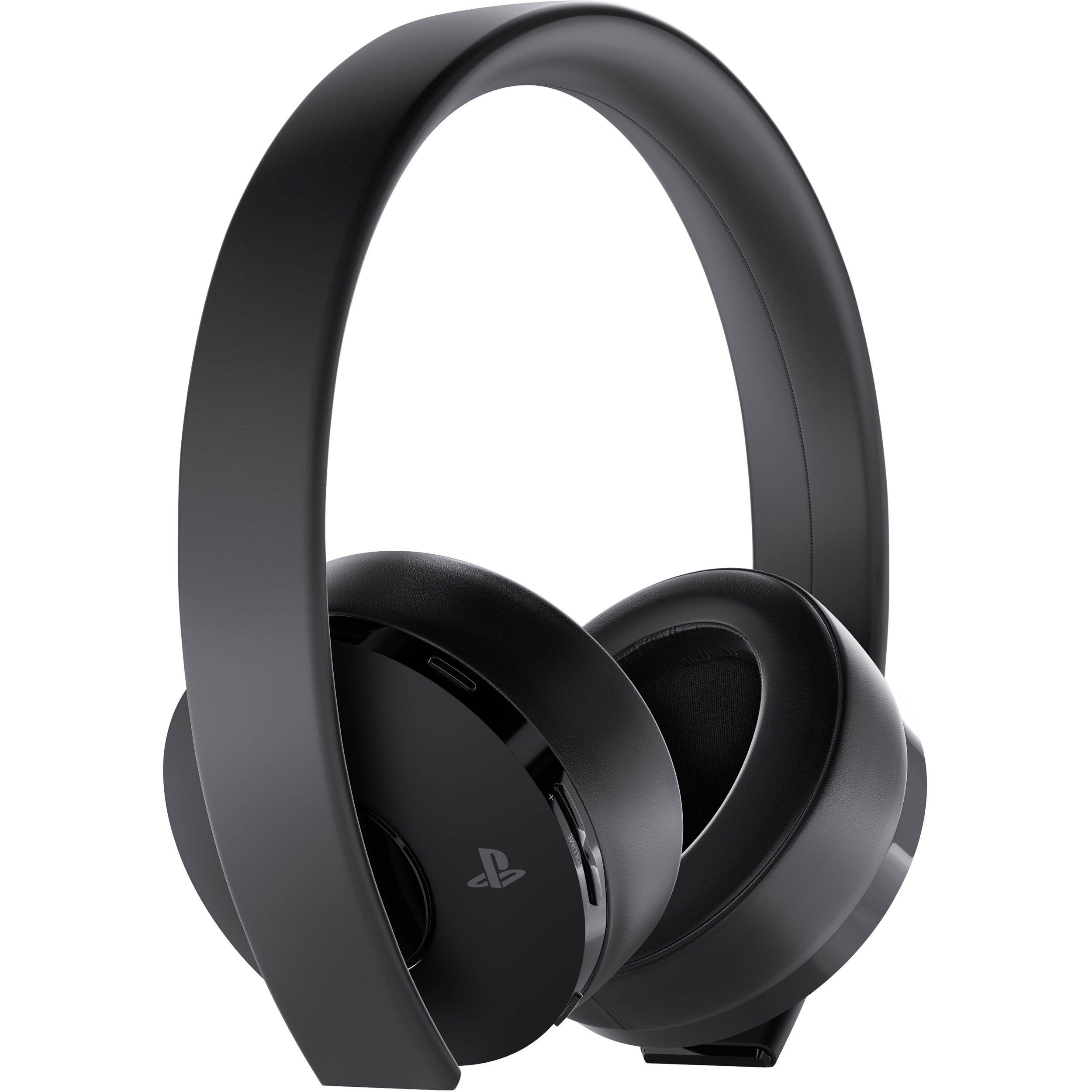 sony playstation gold wireless headset black 3002498 b h. Black Bedroom Furniture Sets. Home Design Ideas