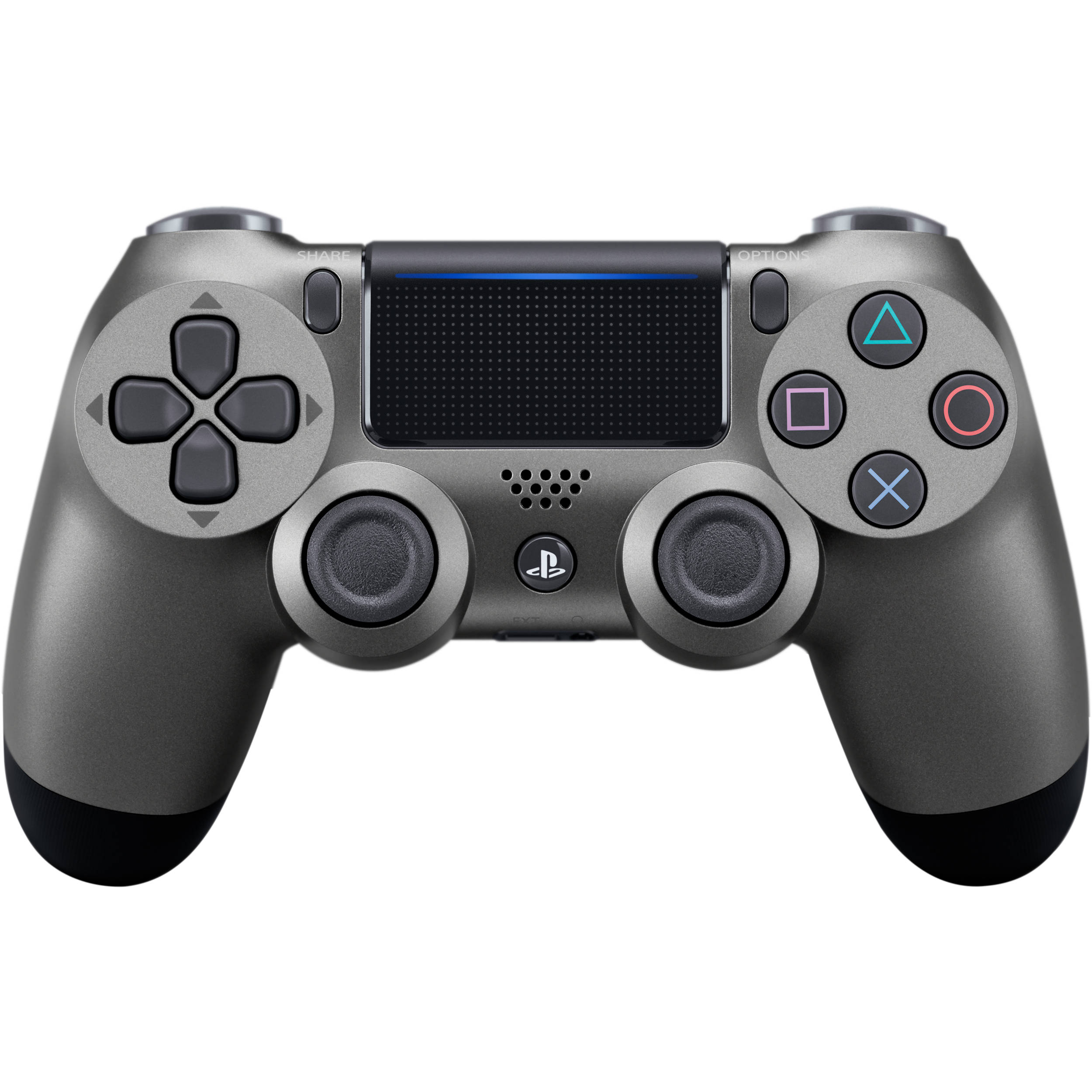 Sony Dualshock 4 Wireless Controller  Steel Black  3002837 B U0026h