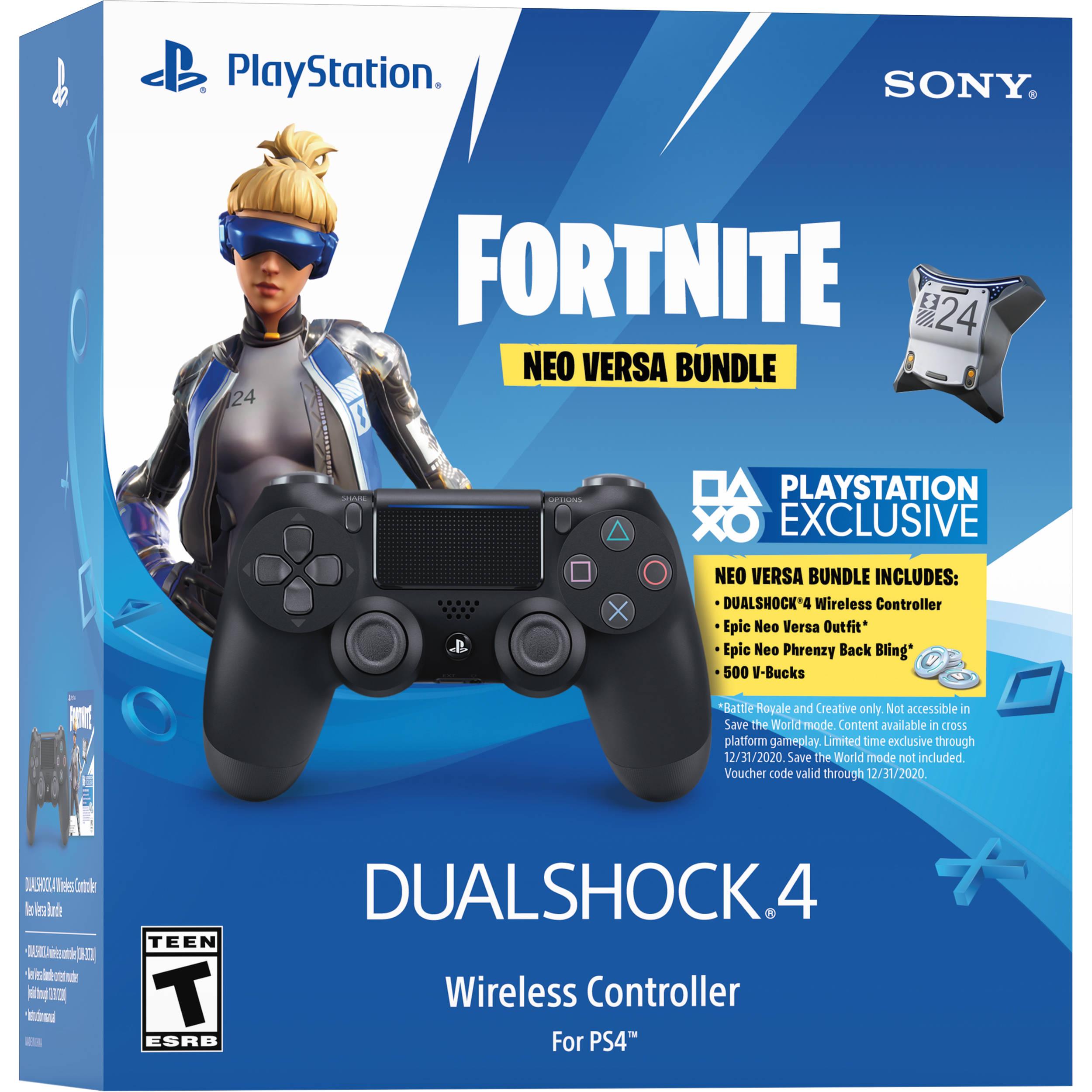 Sony Fortnite Neo Versa Dualshock 4 Wireless Controller 3004661