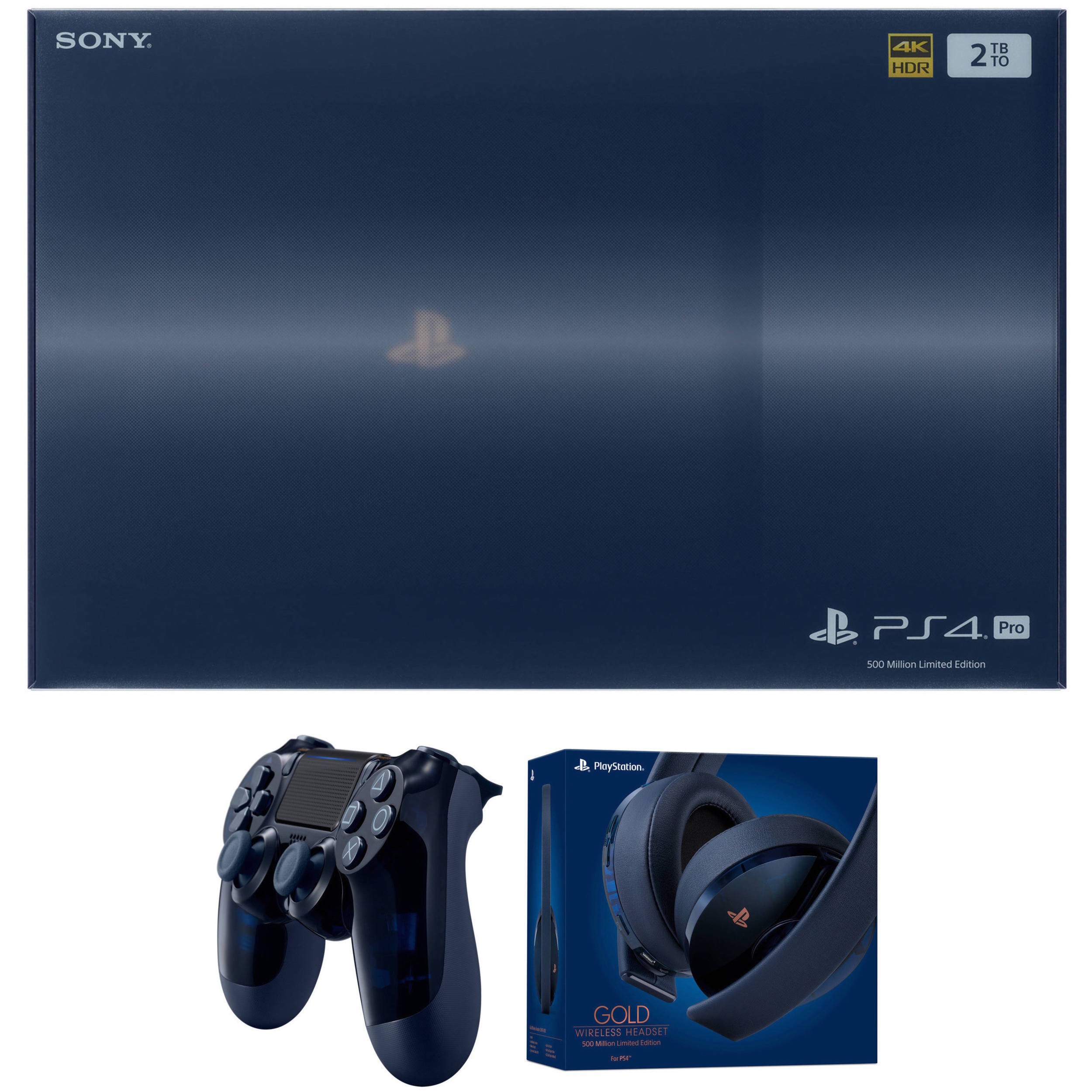 playstation 4 pro 2tb 500 million limited edition console nz