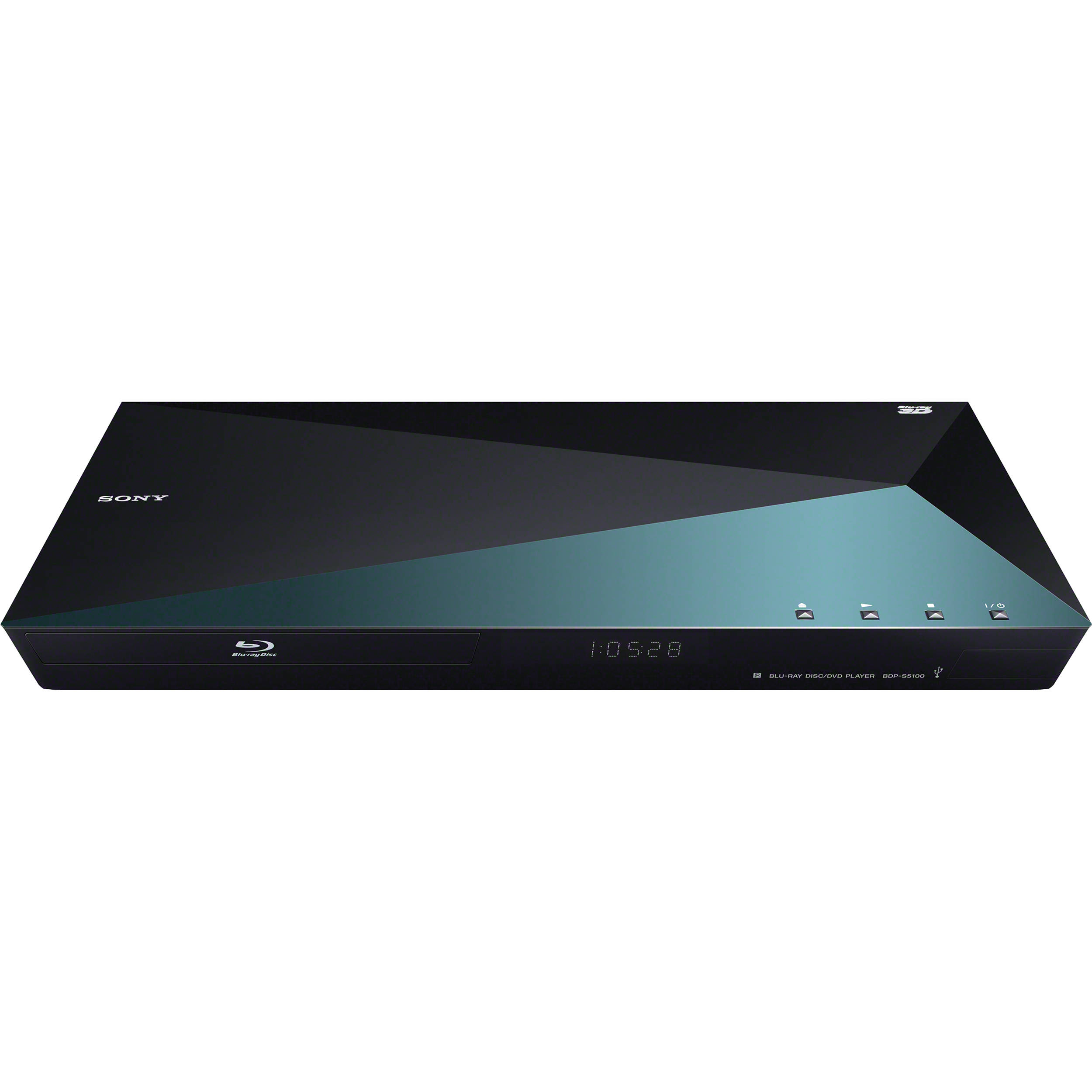 sony bdp s5100 3d blu ray disc player with super wi fi bdp s5100. Black Bedroom Furniture Sets. Home Design Ideas