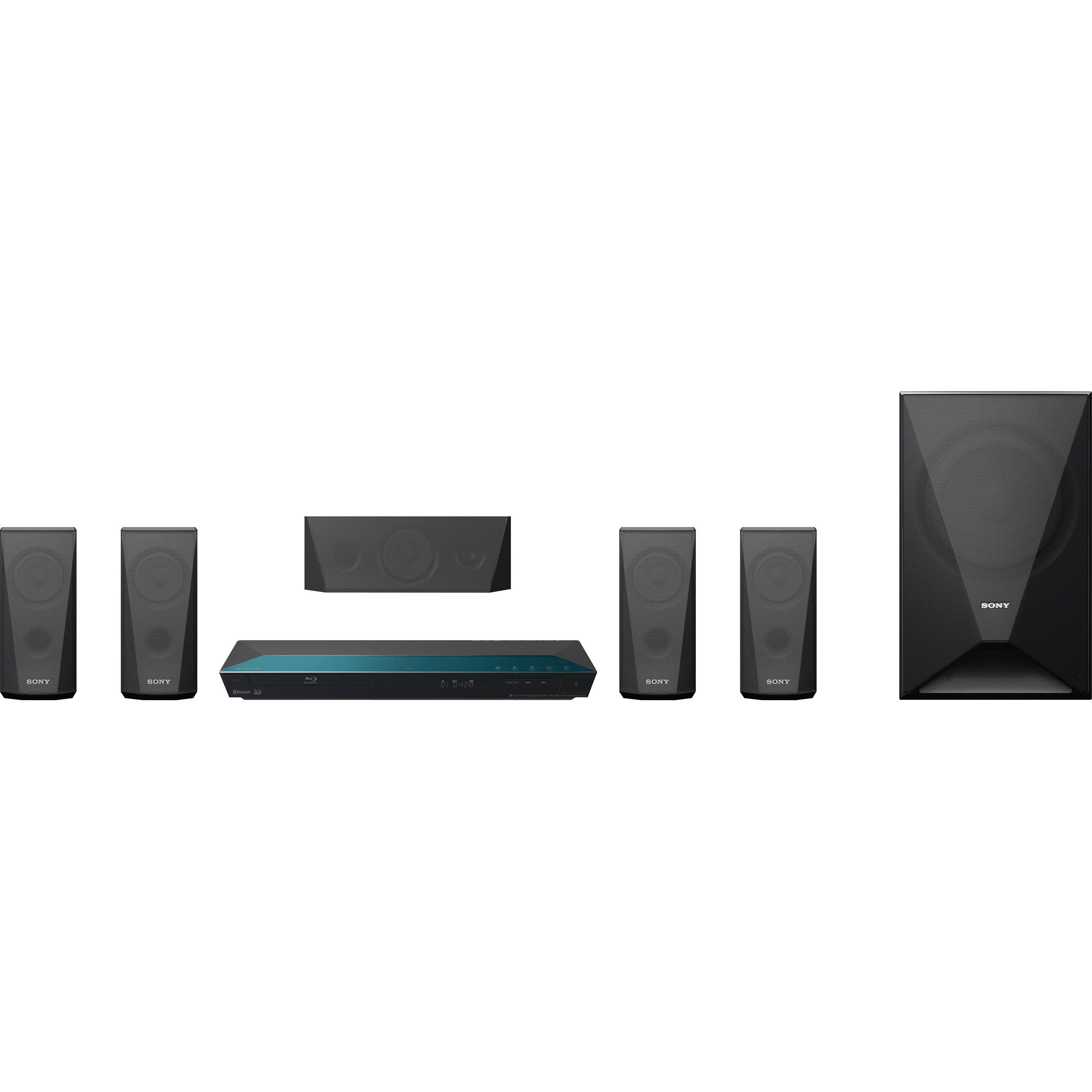 Sony Bdv E3100 3d Blu Ray Home Theater With Wi Fi Bdv