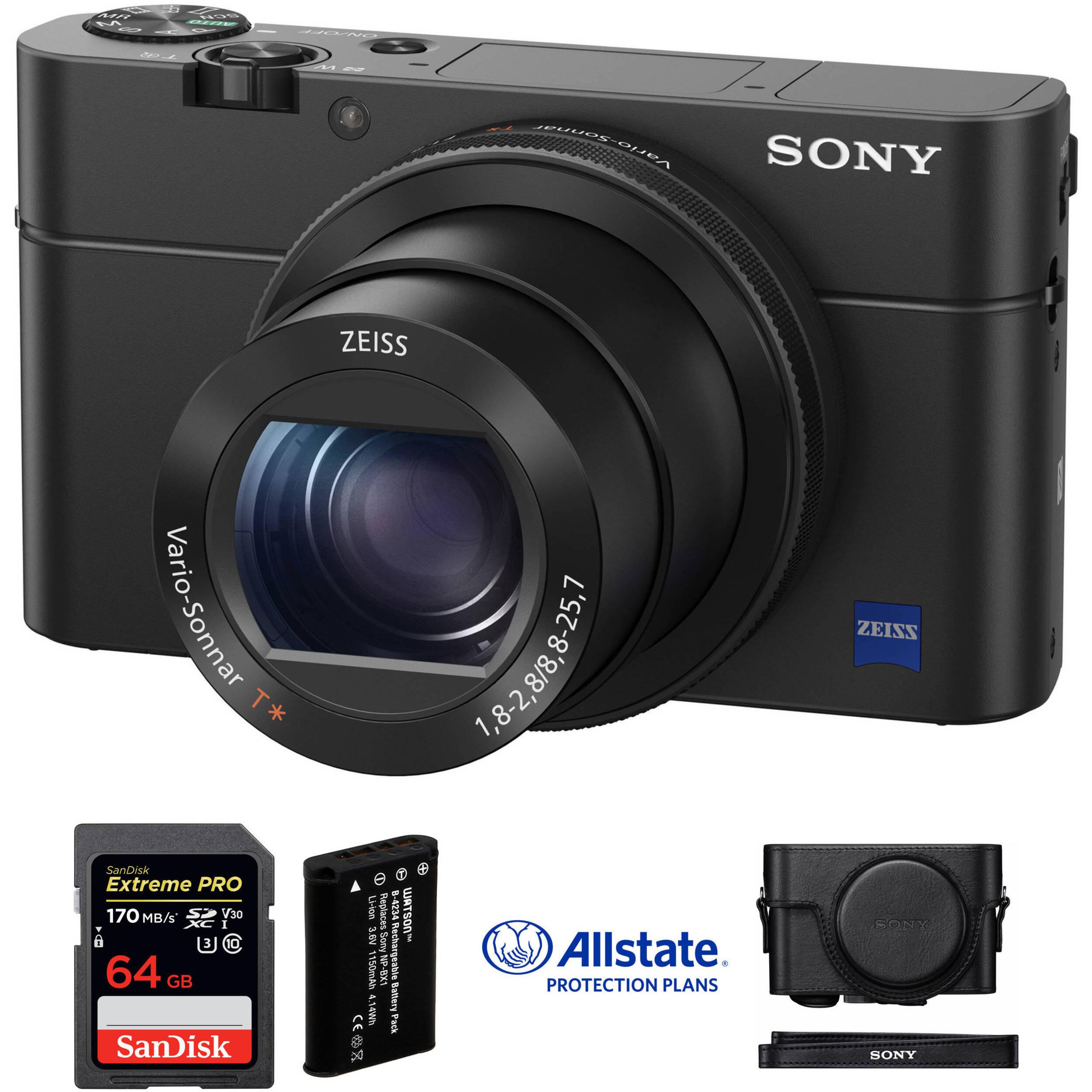 sony cyber shot dsc rx100 iv digital camera deluxe kit b h photo rh bhphotovideo com Sony Cyber-shot Manuals Owner Sony Cyber-shot DSC H70 Manual